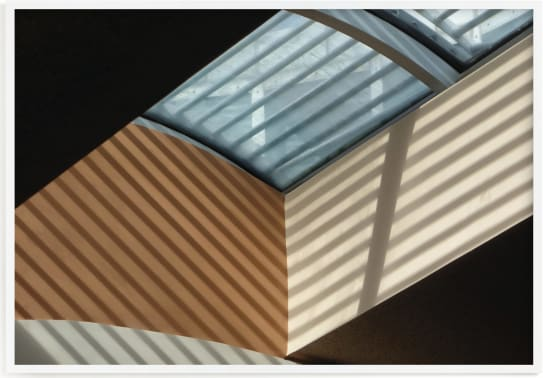 This is a colorful by A MAZ Design called Skylight Shadows.