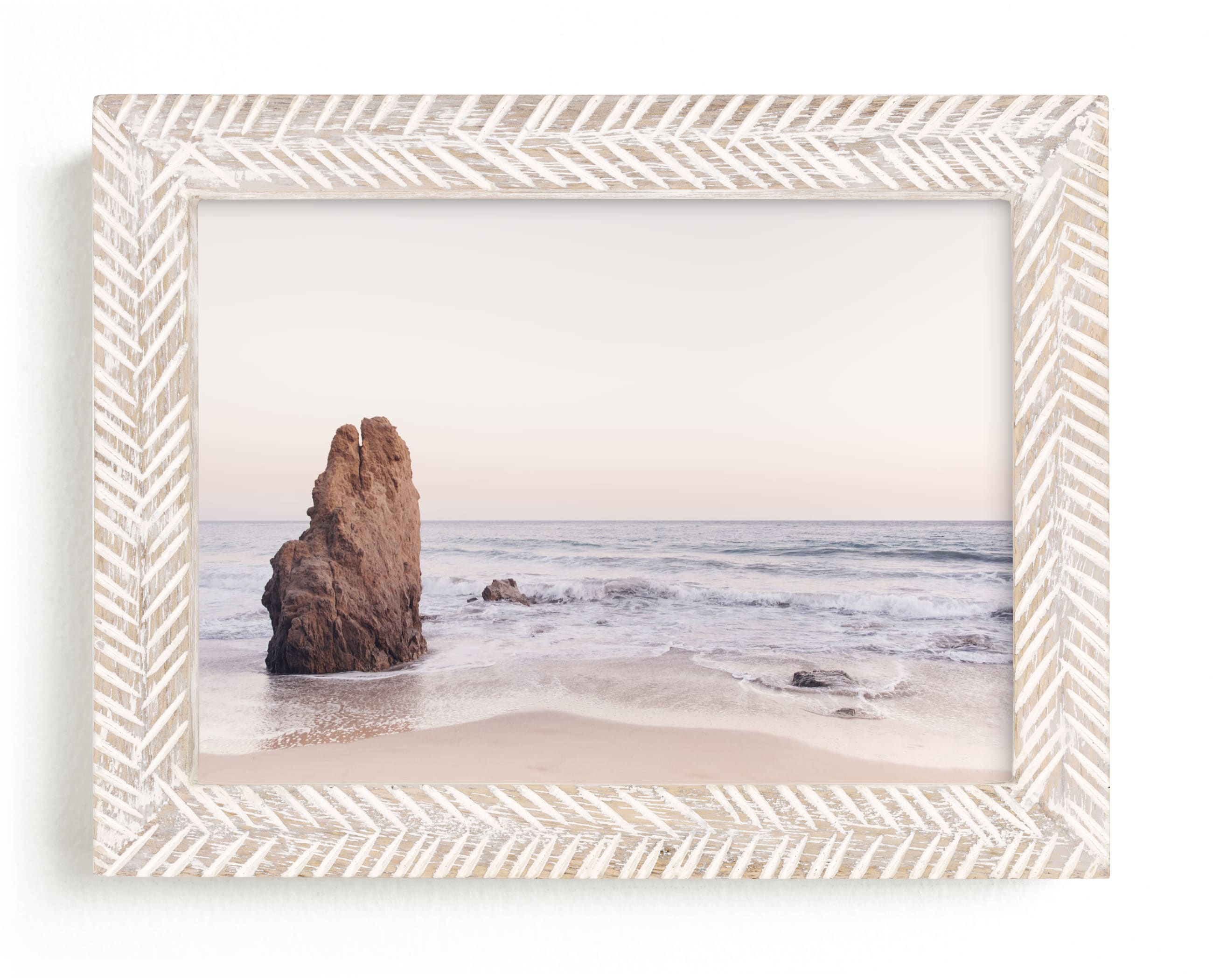 """Malibu View No. 2"" - Limited Edition Art Print by Kamala Nahas in beautiful frame options and a variety of sizes."