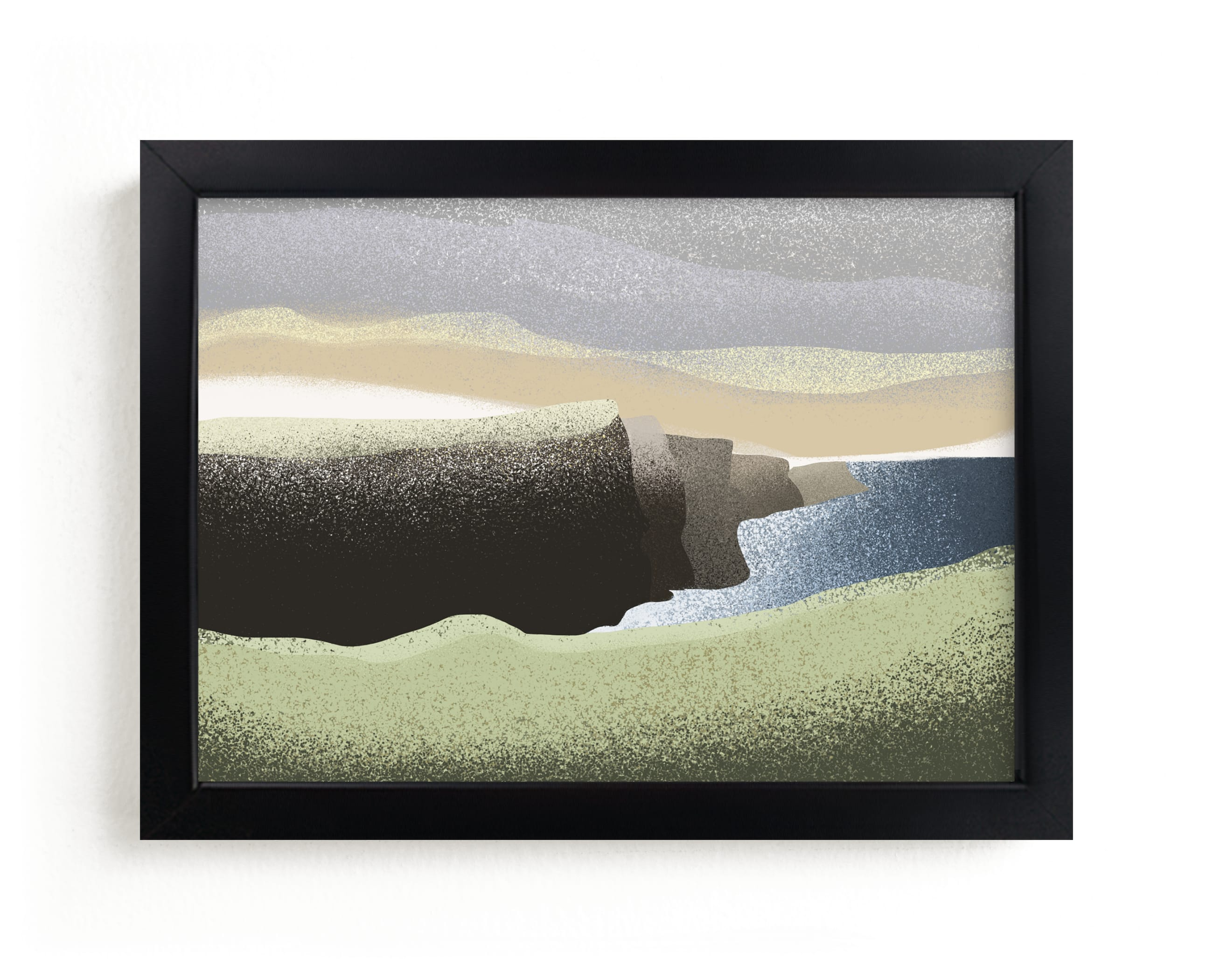 """""""Moher 2"""" - Limited Edition Art Print by Kristen Marie in beautiful frame options and a variety of sizes."""
