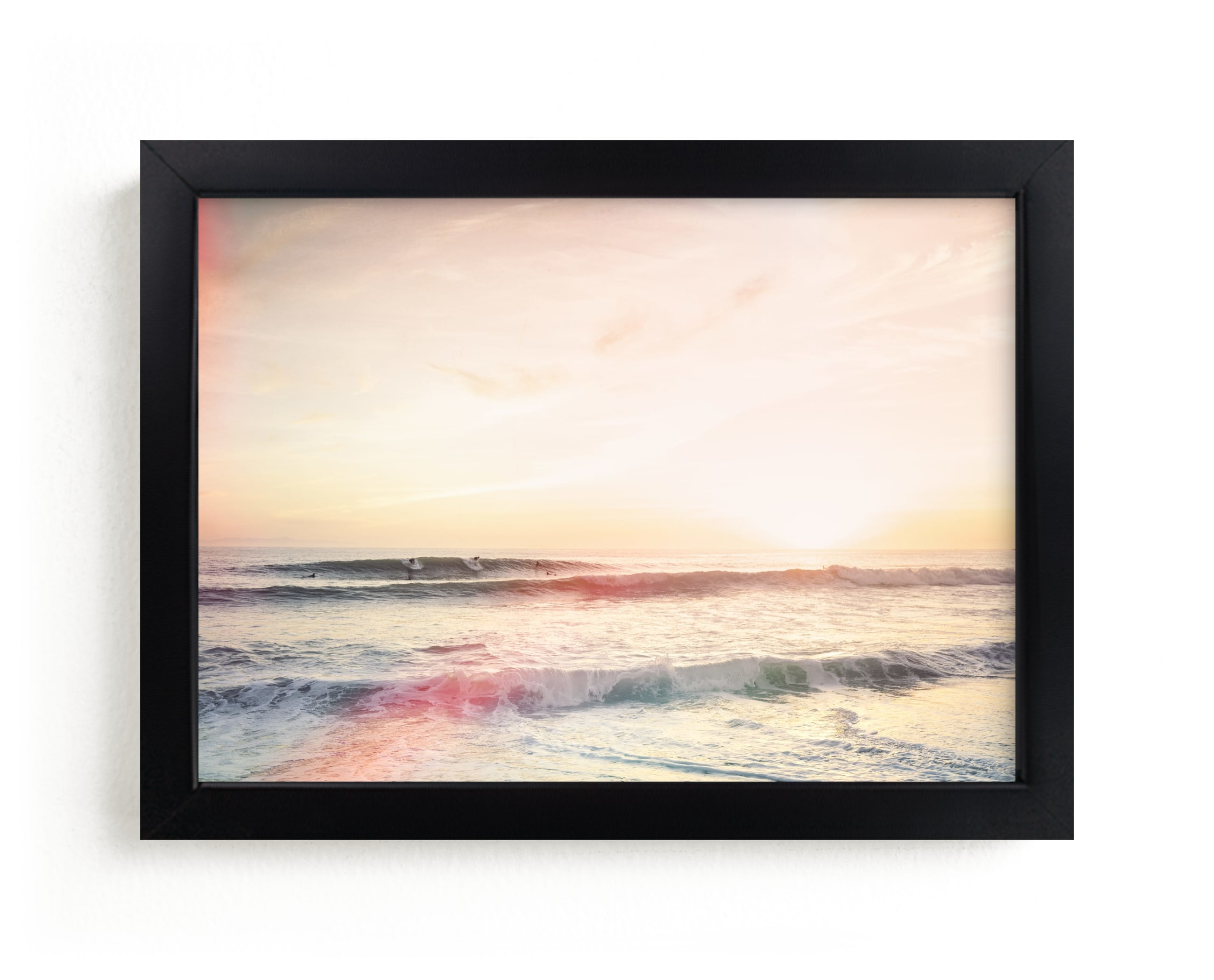 """""""Beach Affect"""" - Limited Edition Art Print by Kamala Nahas in beautiful frame options and a variety of sizes."""