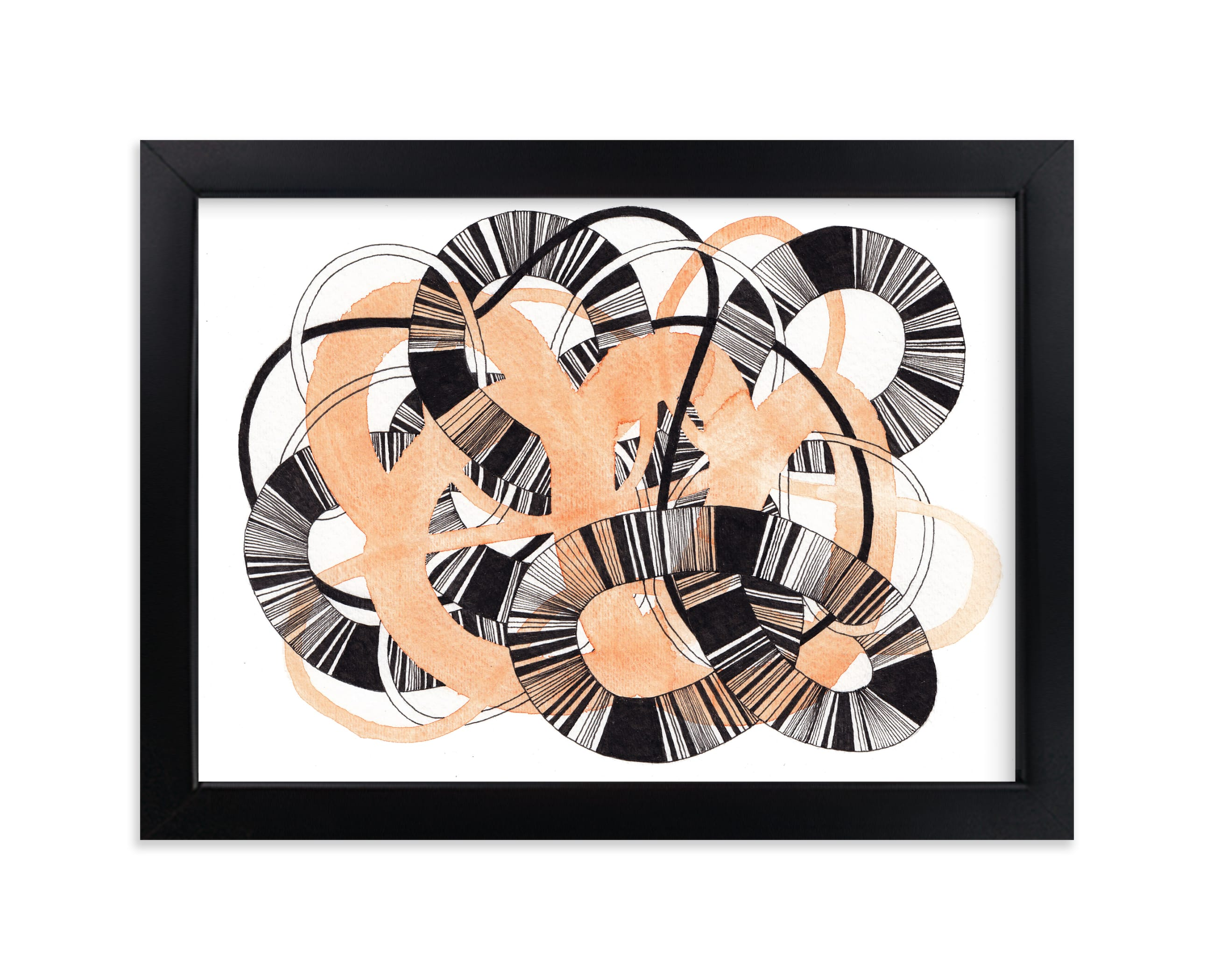 """Sandworm 3"" - Limited Edition Art Print by Jaime Derringer in beautiful frame options and a variety of sizes."