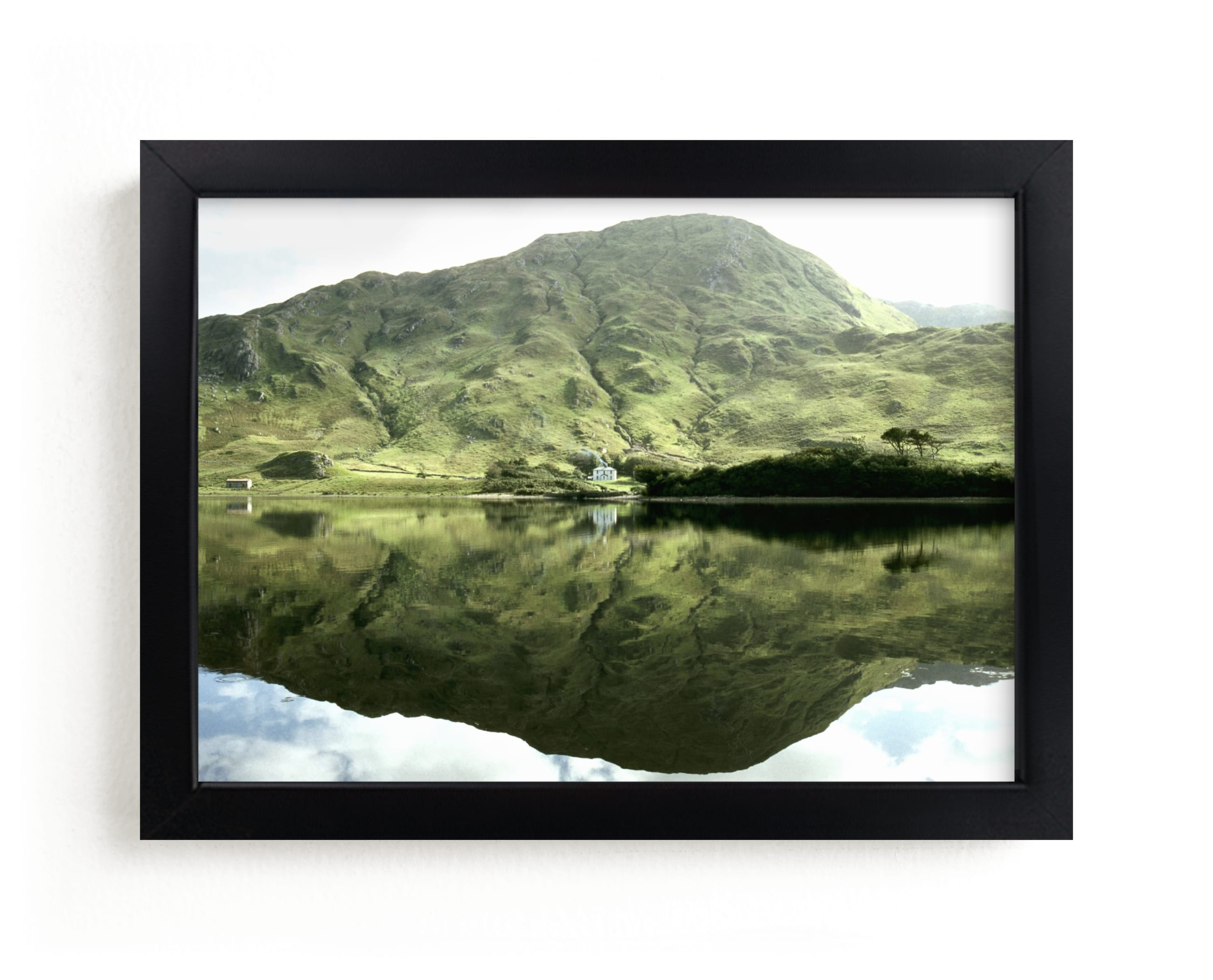"""""""Green Reflections Connemara Ireland"""" - Limited Edition Art Print by Eva Marion in beautiful frame options and a variety of sizes."""