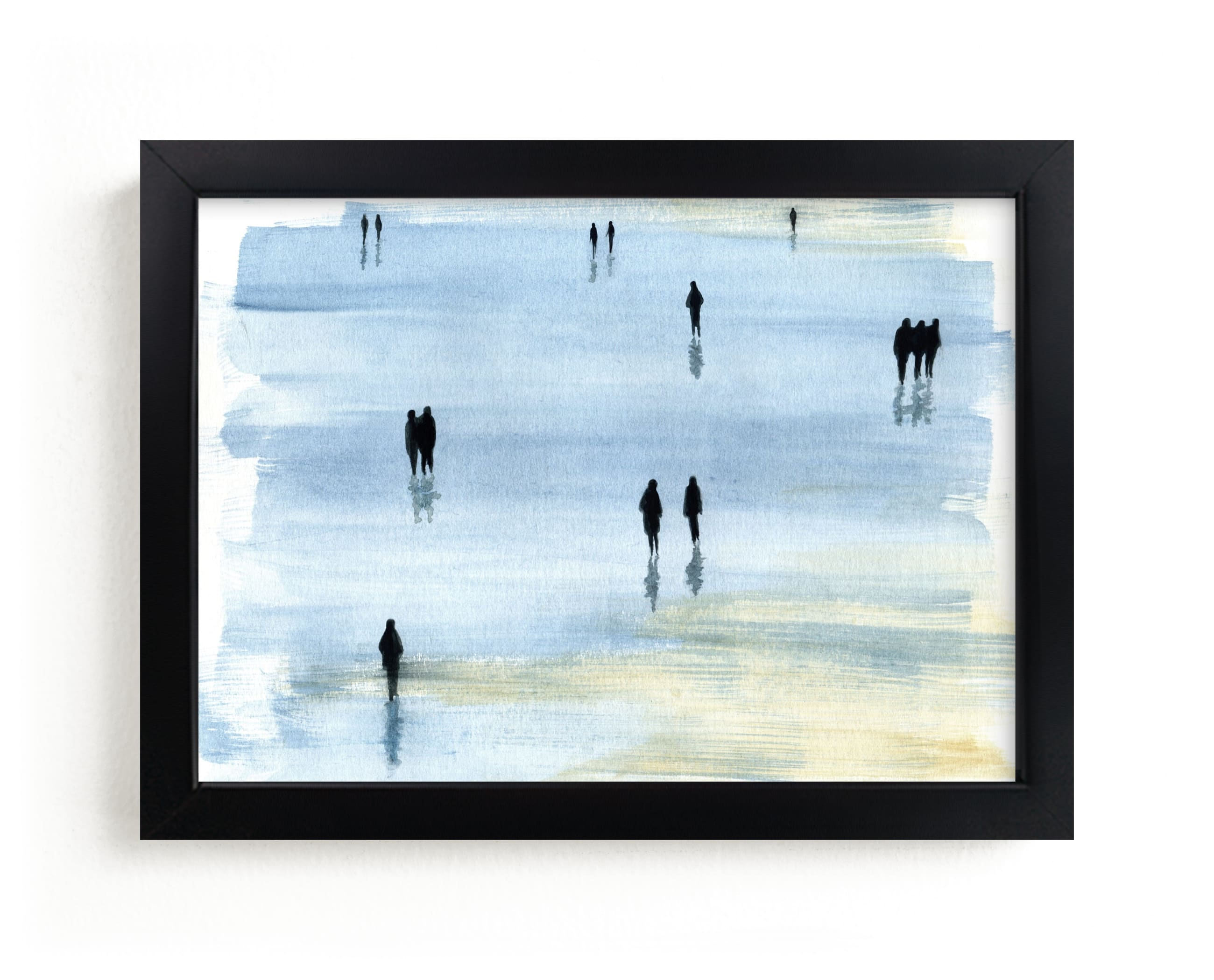 """""""Nostalgia"""" - Limited Edition Art Print by Lulaloo in beautiful frame options and a variety of sizes."""