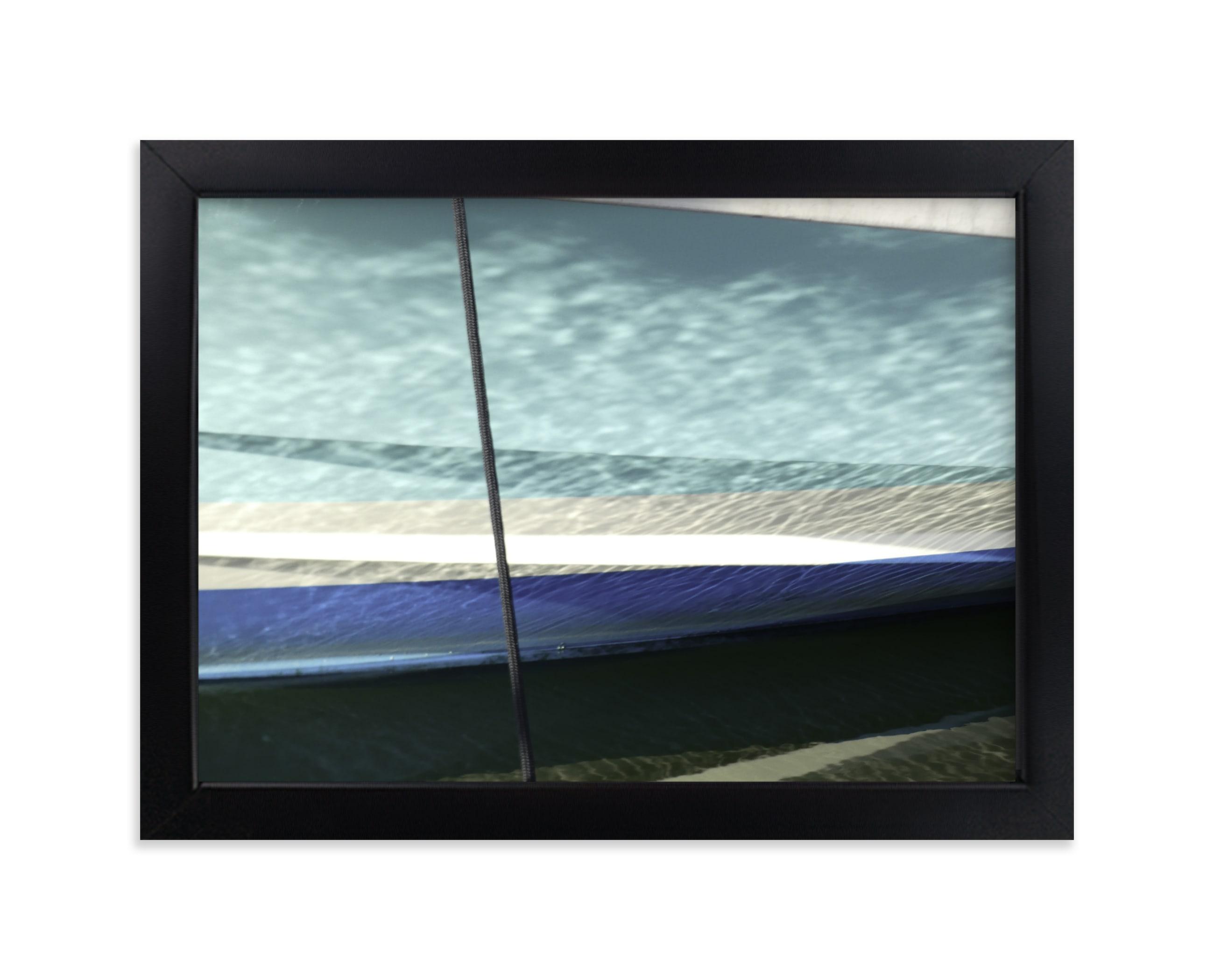 Boat Hull, Maine Art Print