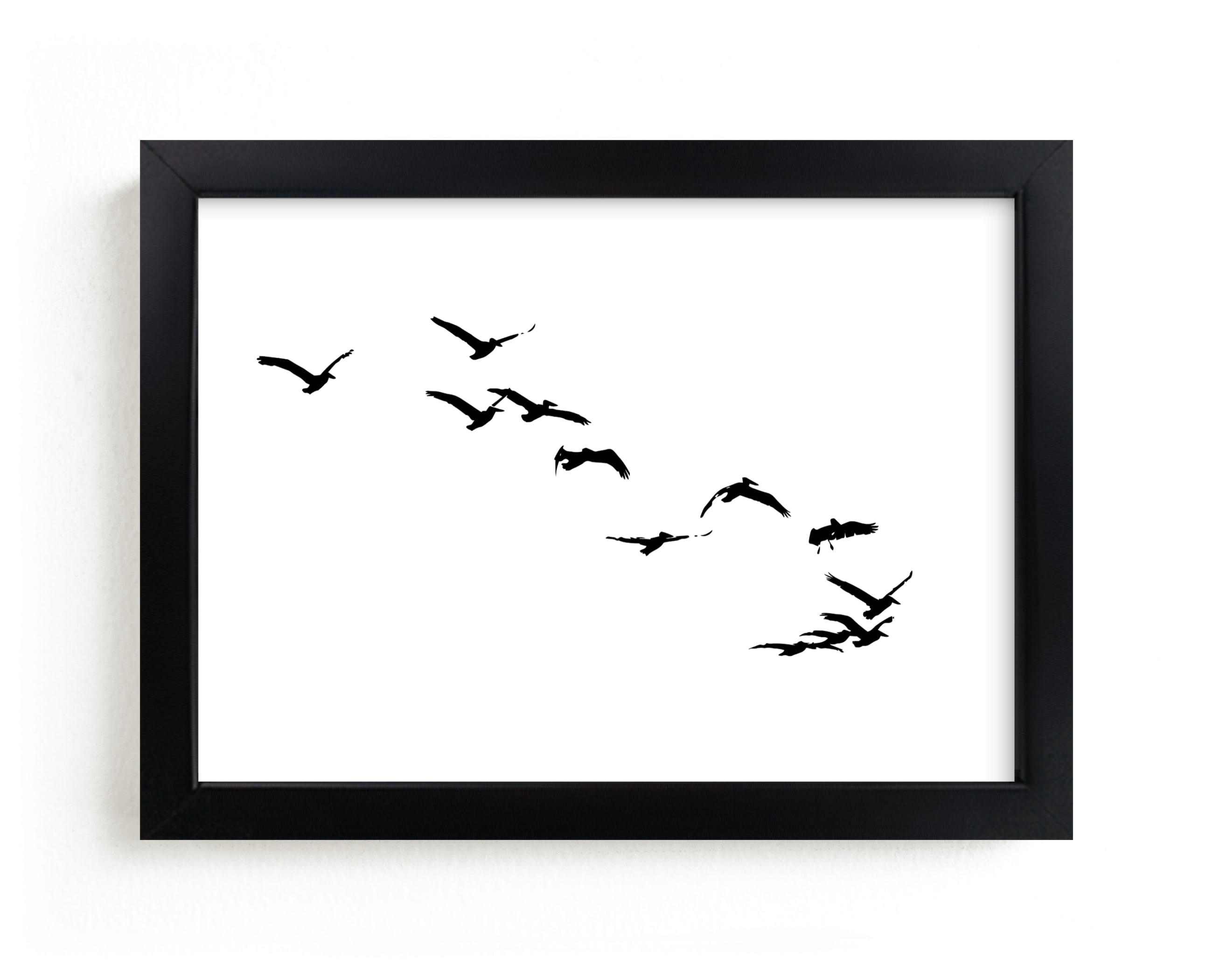 """""""Landing"""" - Limited Edition Art Print by Neeta Sawhney in beautiful frame options and a variety of sizes."""