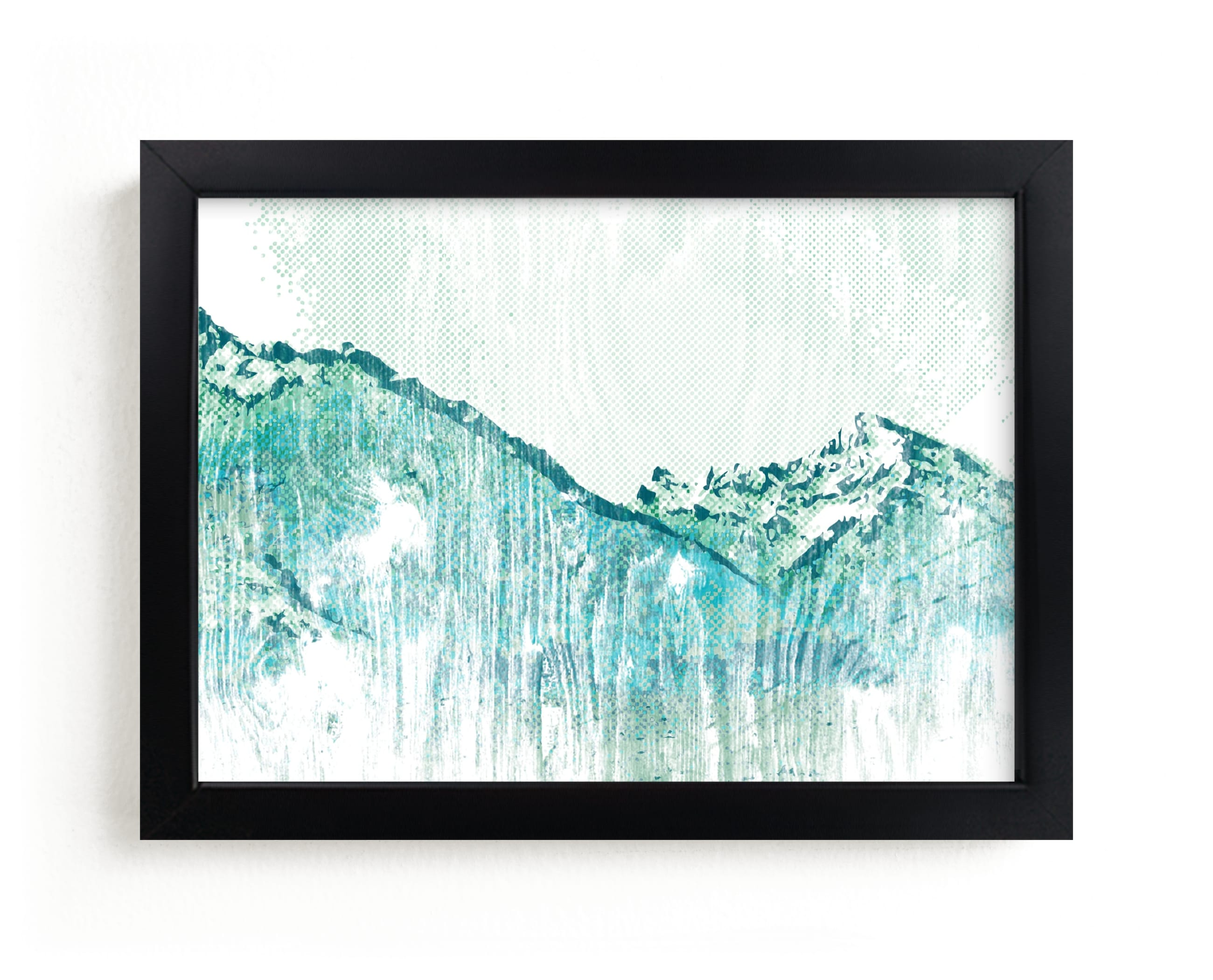 """Escape "" - Limited Edition Art Print by SimpleTe Design in beautiful frame options and a variety of sizes."