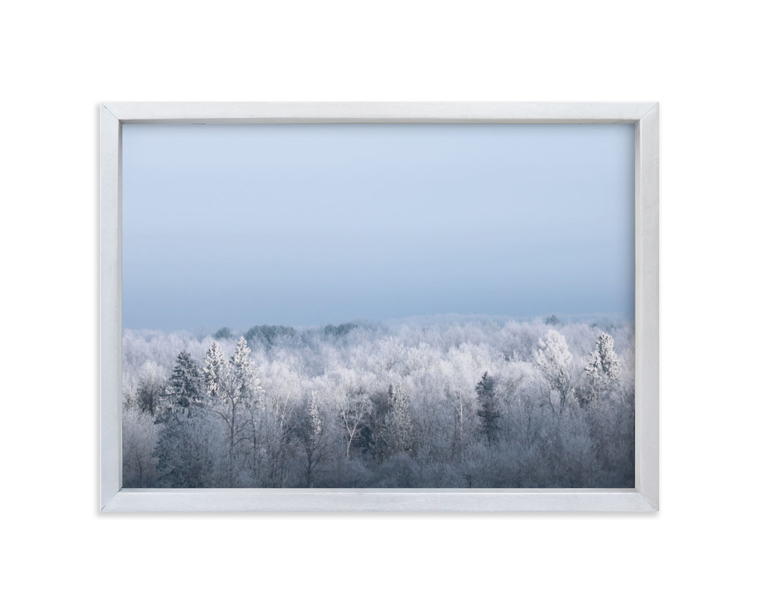 """""""Frosted Horizon"""" - Limited Edition Art Print by Janelle Wourms in beautiful frame options and a variety of sizes."""