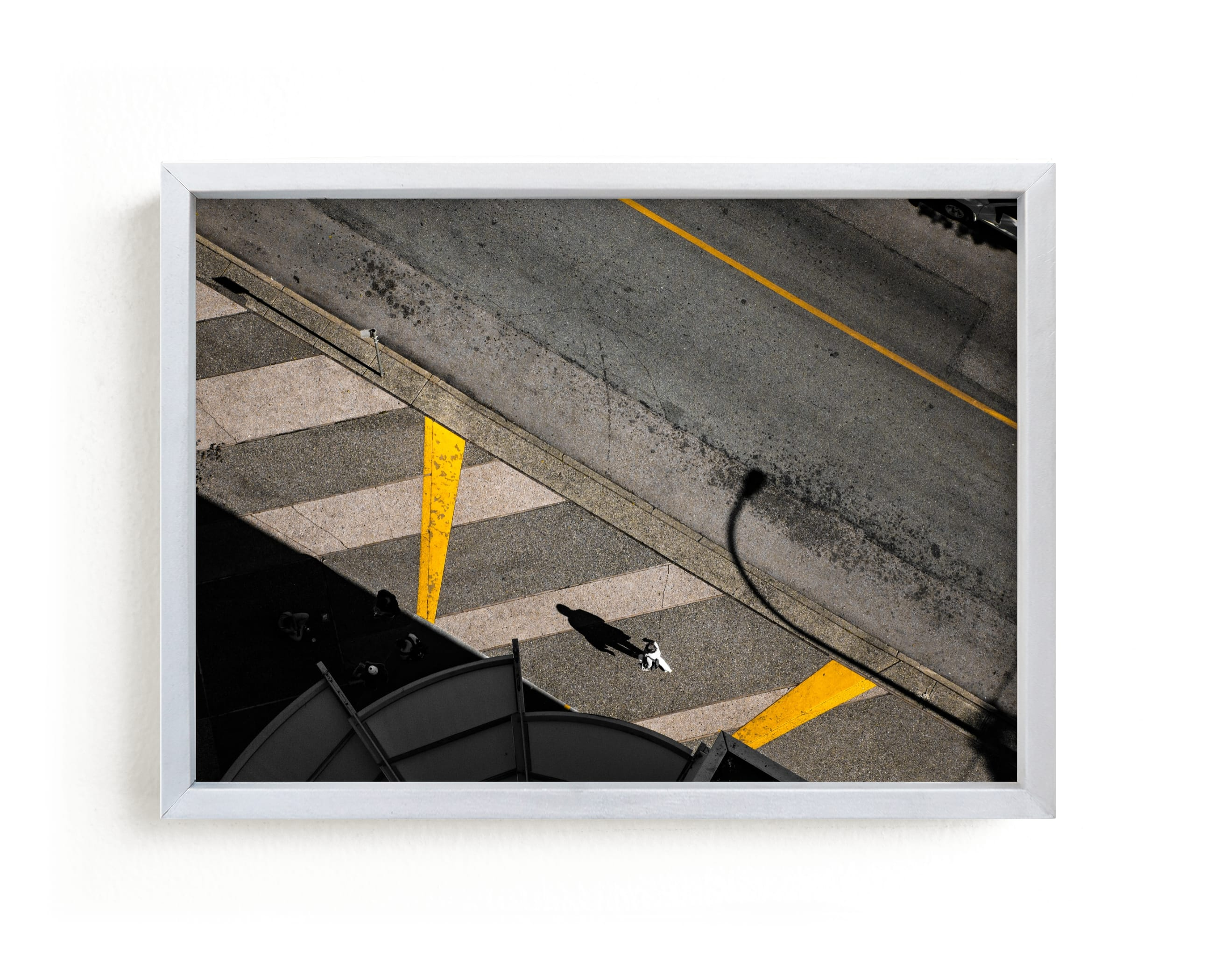 """Story From Aerial #2"" - Limited Edition Art Print by Van Tsao in beautiful frame options and a variety of sizes."