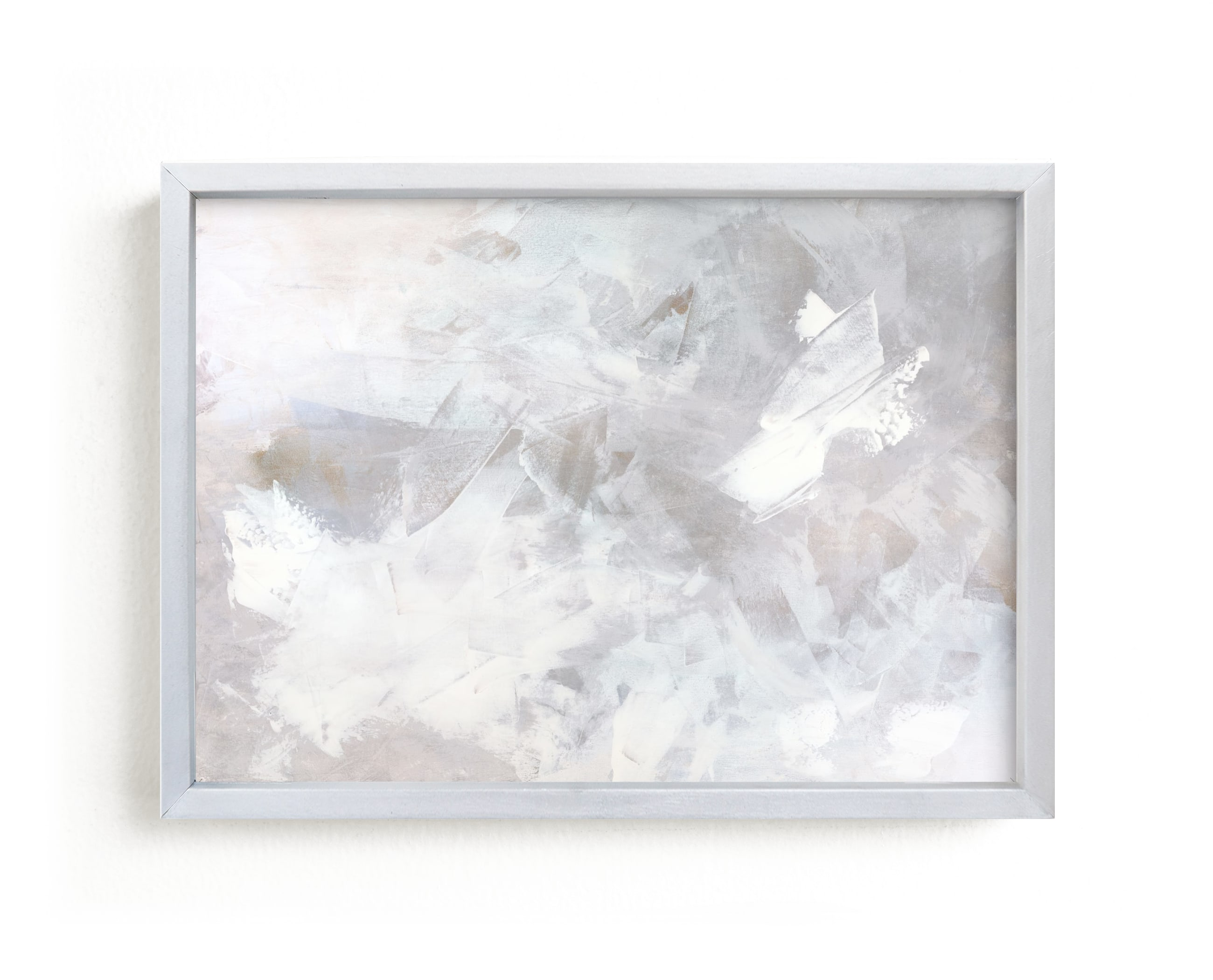 """""""Melody in White"""" - Limited Edition Art Print by Teodora Guererra in beautiful frame options and a variety of sizes."""