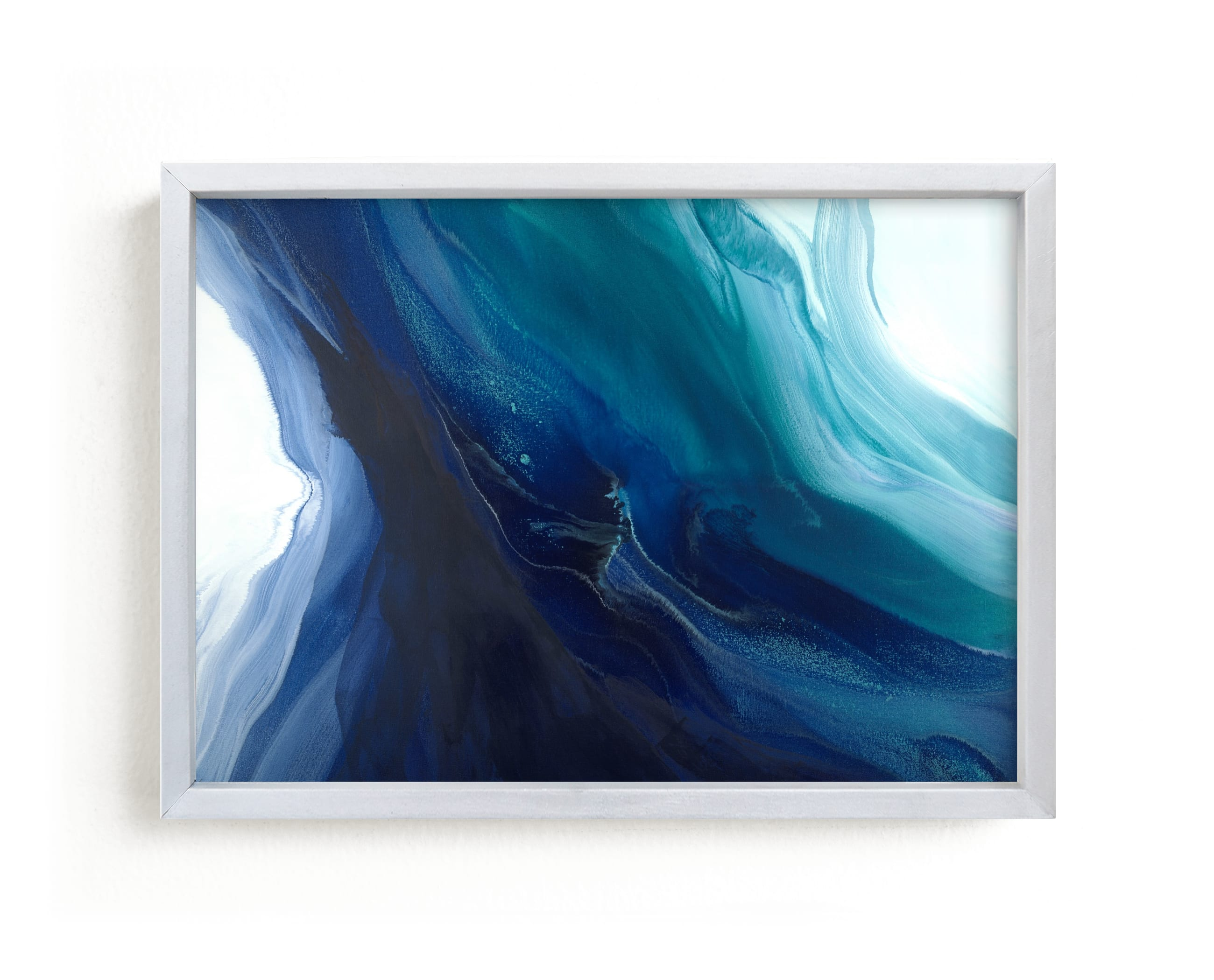 """""""Caribbean Silk"""" - Limited Edition Art Print by Teodora Guererra in beautiful frame options and a variety of sizes."""