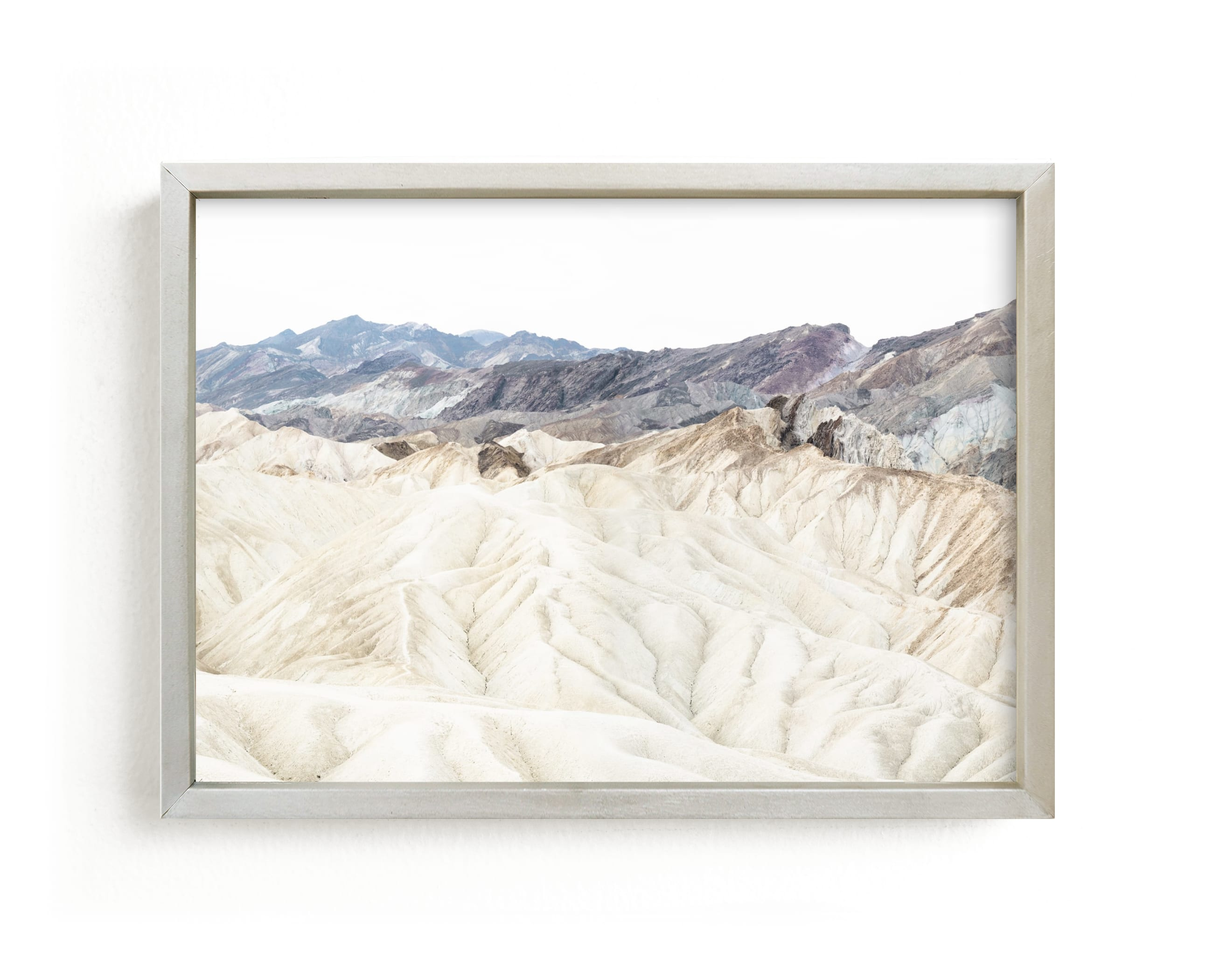 """""""white canyon 4"""" - Limited Edition Art Print by Kamala Nahas in beautiful frame options and a variety of sizes."""