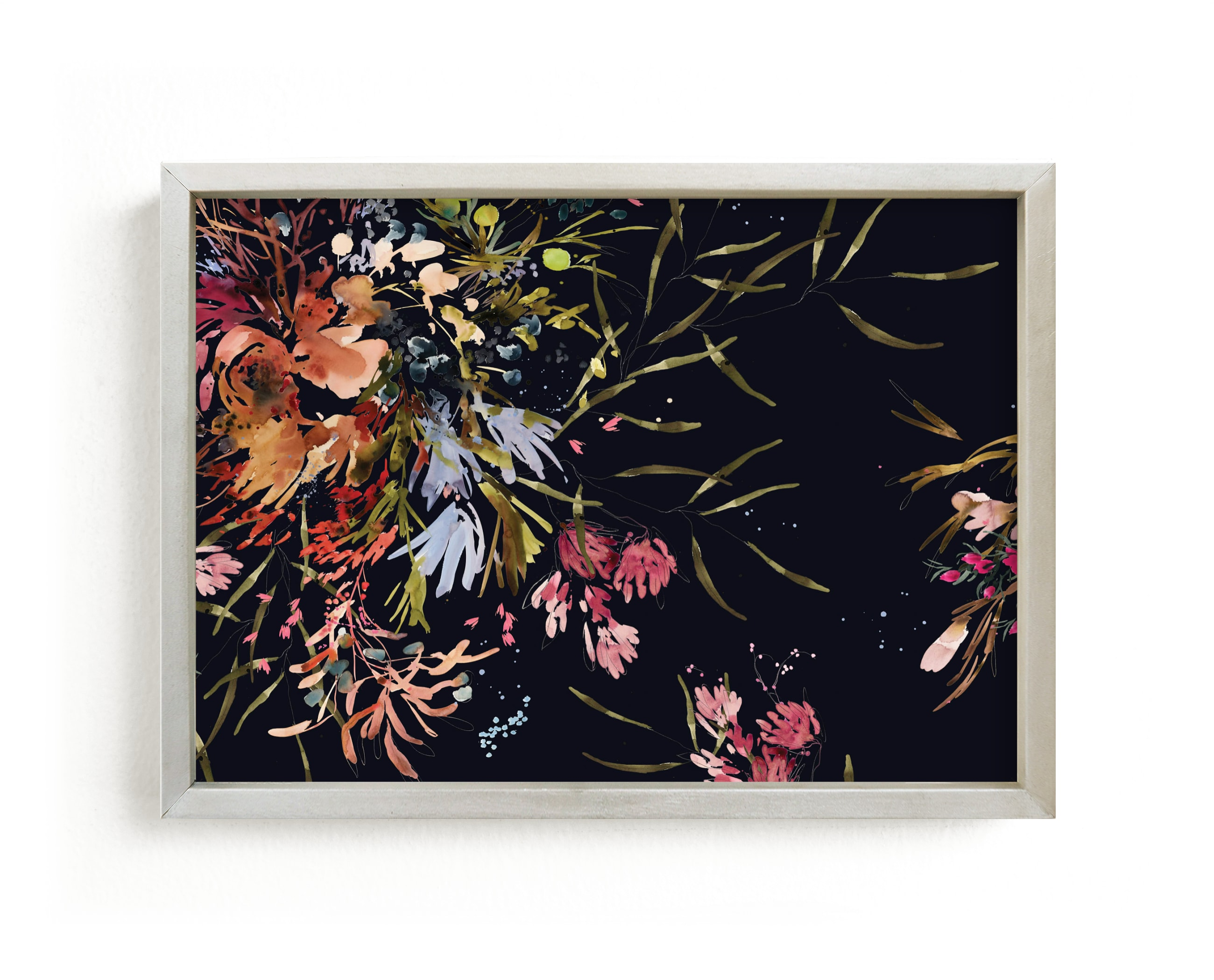 """Gardens"" - Limited Edition Art Print by Kelly Ventura in beautiful frame options and a variety of sizes."