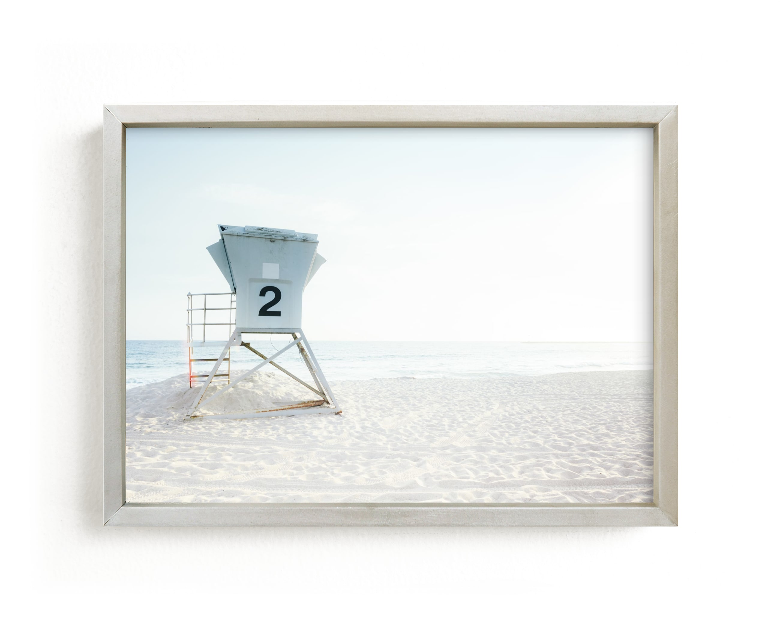 """""""Summer Tower"""" - Limited Edition Art Print by Kamala Nahas in beautiful frame options and a variety of sizes."""