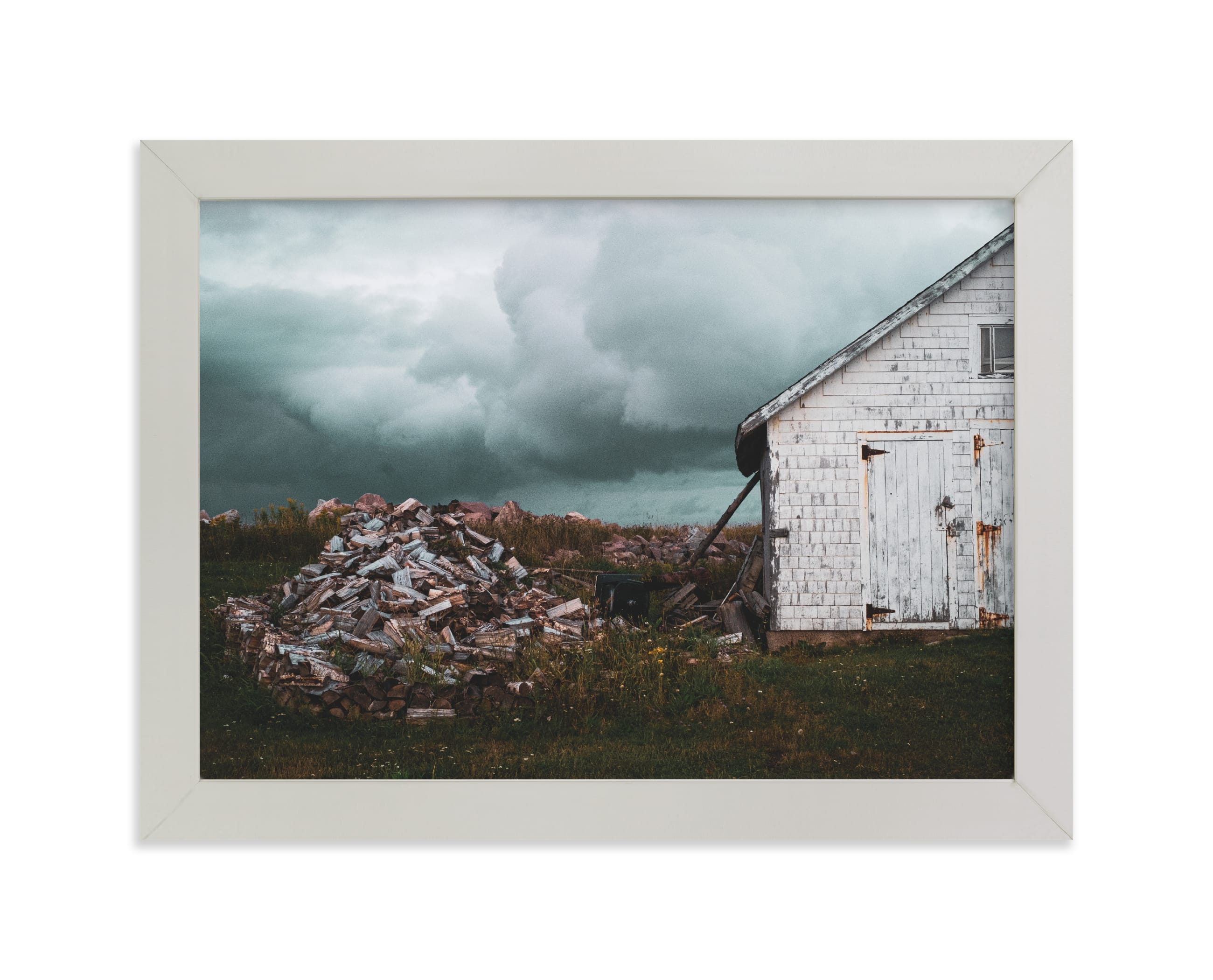 """Ominous"" - Limited Edition Art Print by Calluna Fine Paper in beautiful frame options and a variety of sizes."