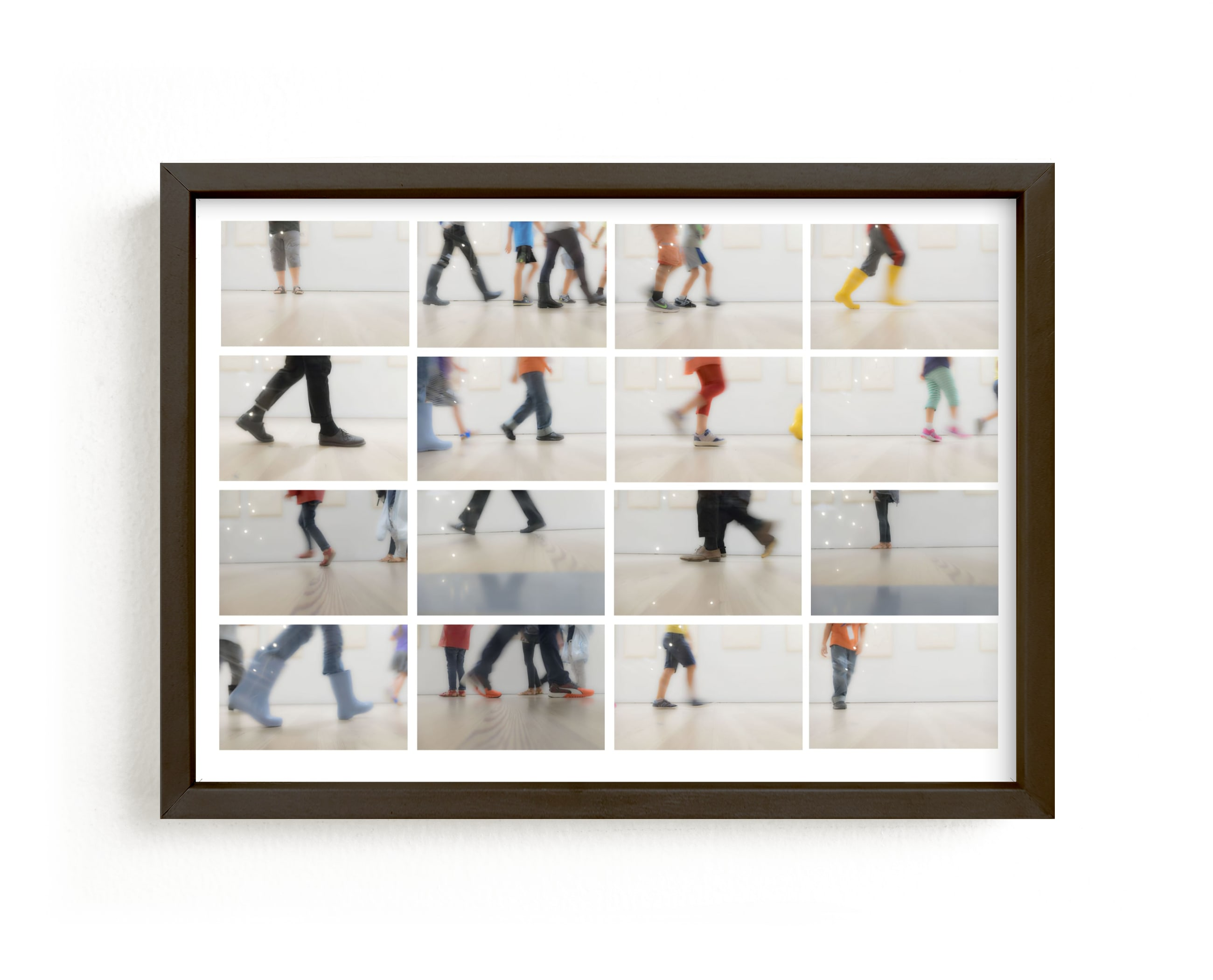 """""""Walk this way"""" - Limited Edition Art Print by Gail Schechter in beautiful frame options and a variety of sizes."""