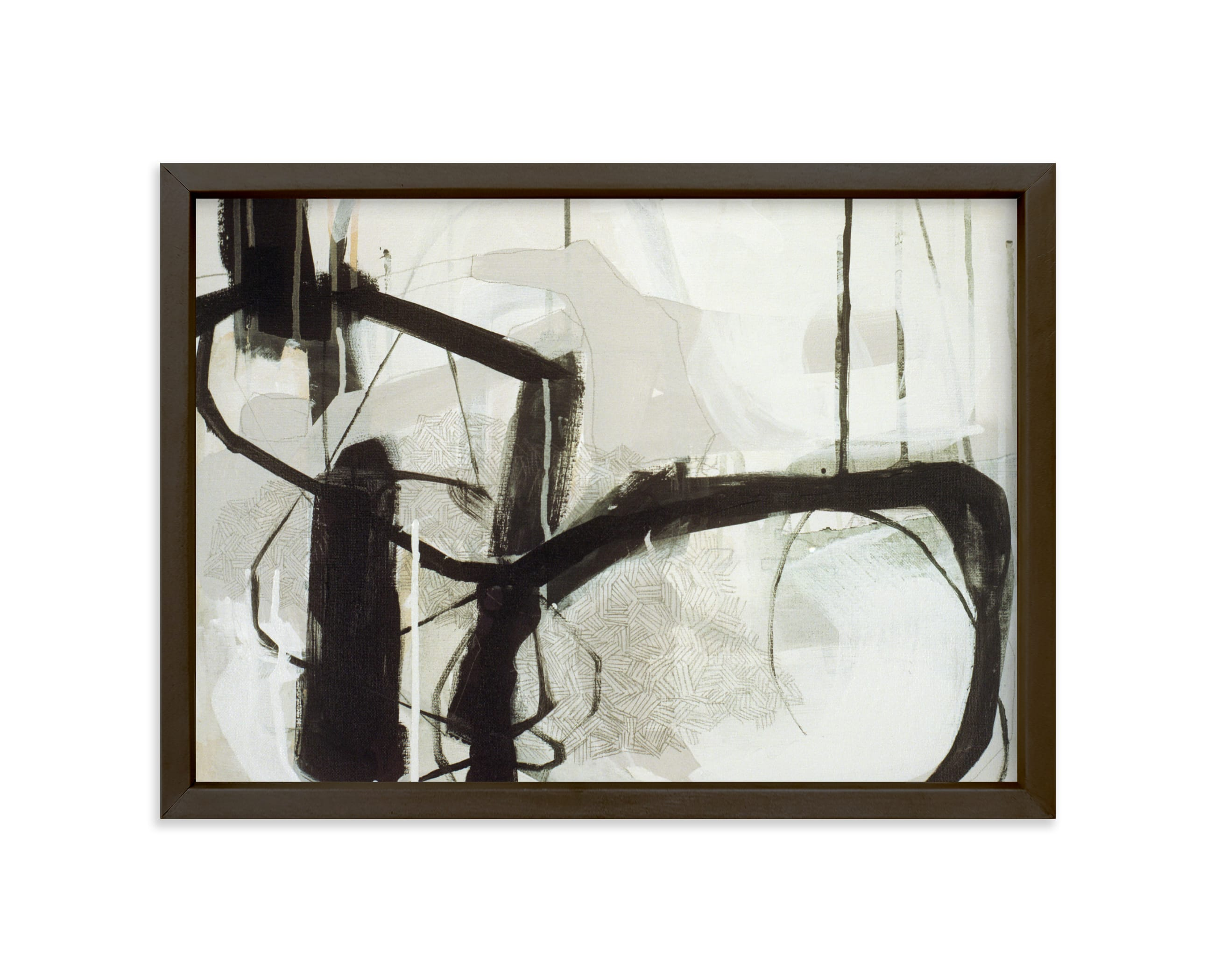 """""""Abstract Untitled 1"""" - Limited Edition Art Print by Kirsta Benedetti in beautiful frame options and a variety of sizes."""