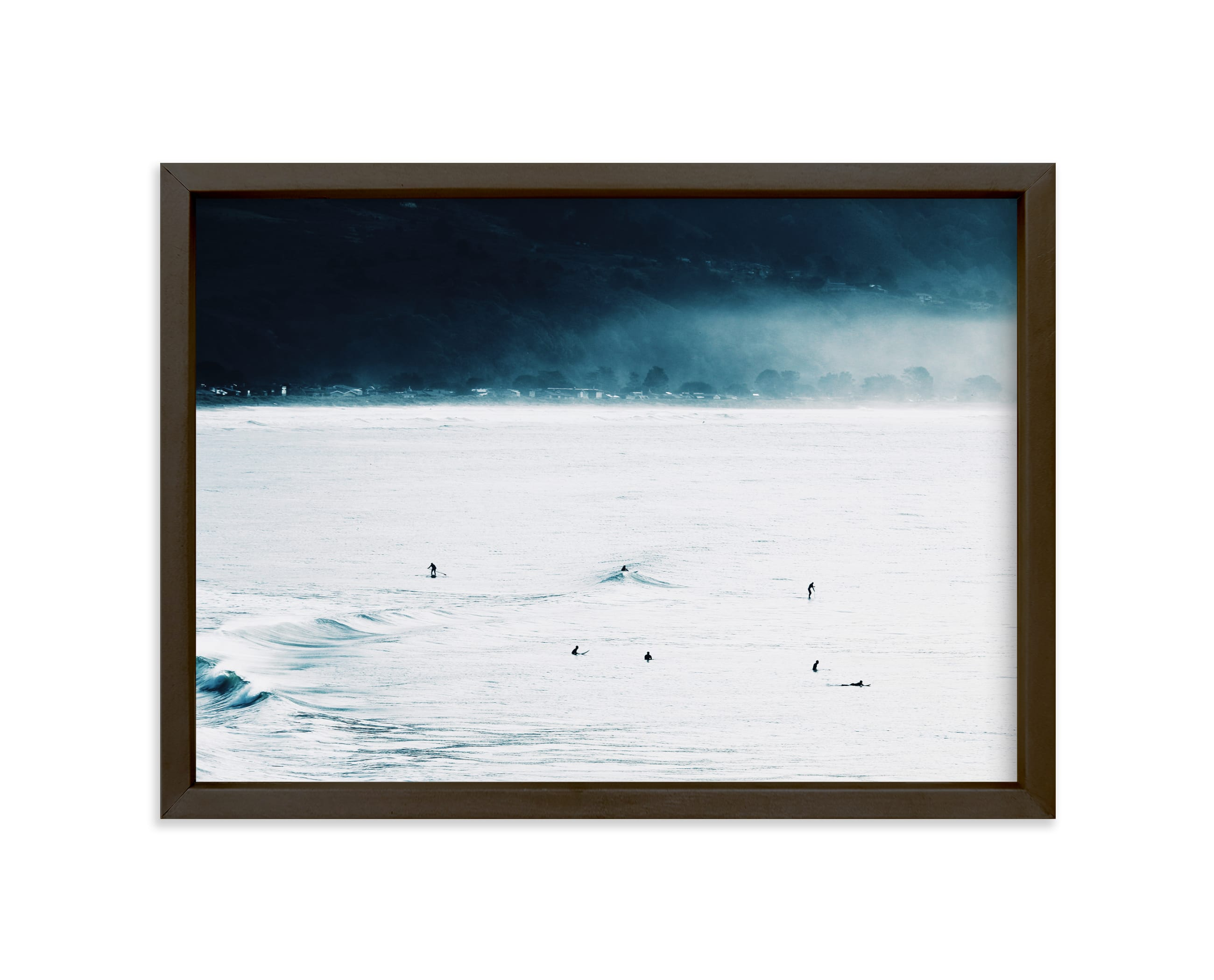"""""""Smell The Sea + Feel The Sky"""" - Limited Edition Art Print by Summer Strauch in beautiful frame options and a variety of sizes."""
