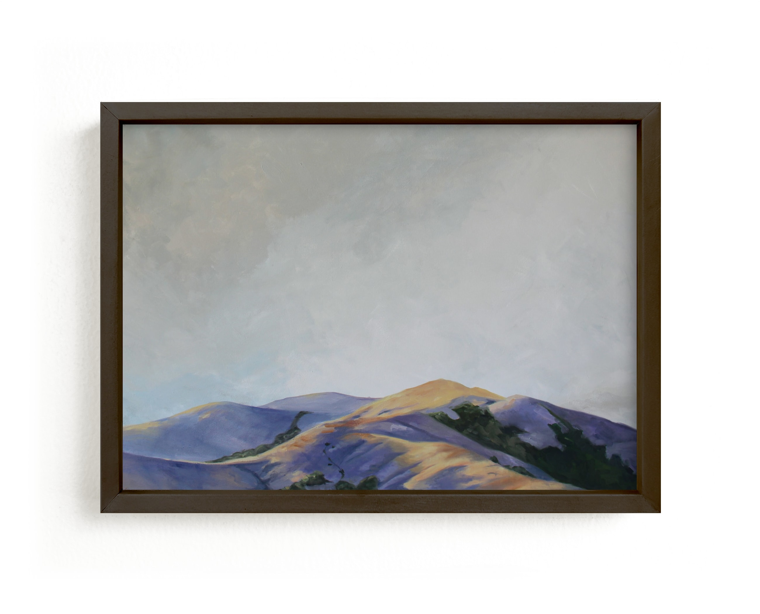 """Marin Glow"" - Limited Edition Art Print by Amanda Phelps in beautiful frame options and a variety of sizes."