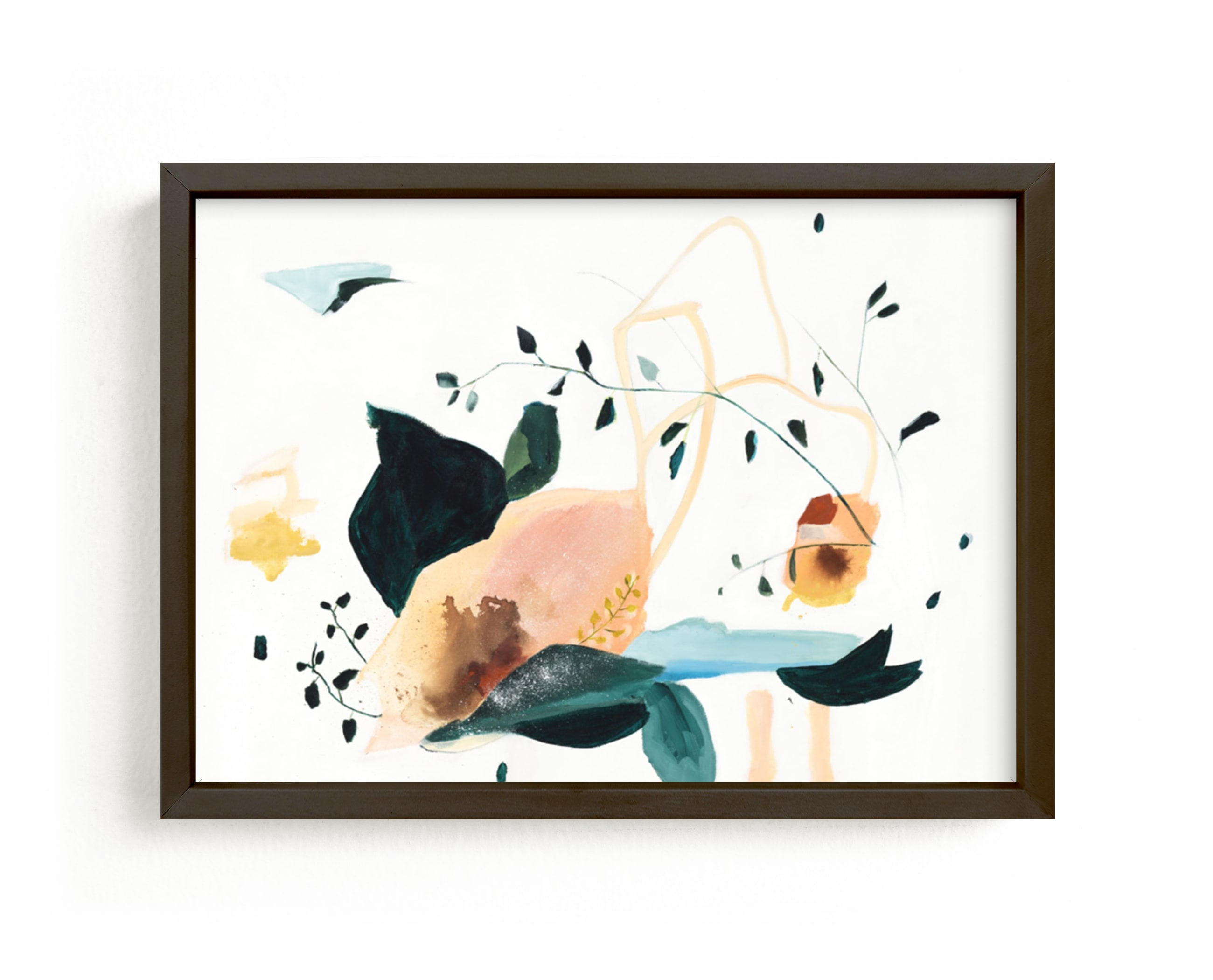 """Lyrical"" - Limited Edition Art Print by Sarah McInroe in beautiful frame options and a variety of sizes."