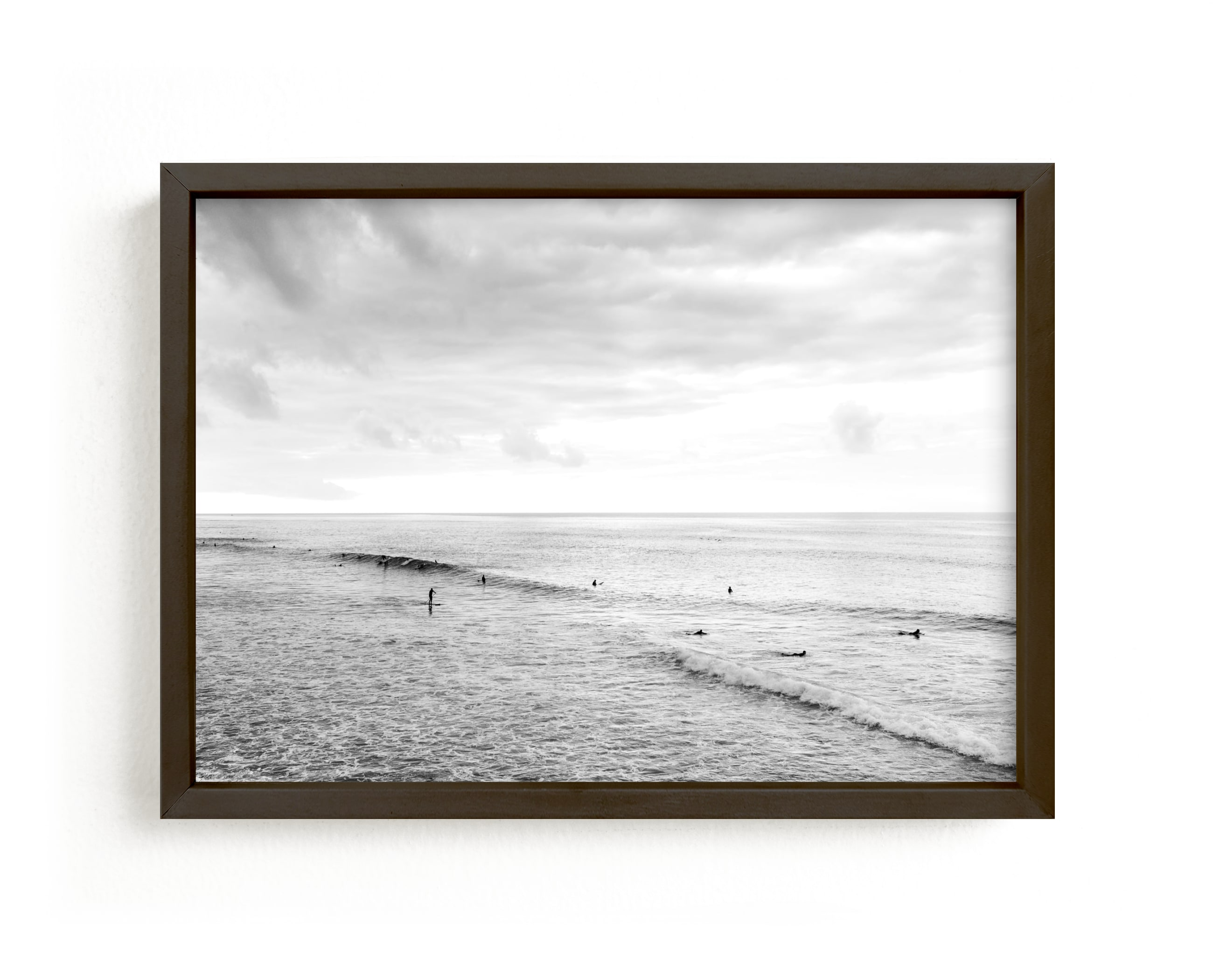 """""""The Lookout"""" - Limited Edition Art Print by Kamala Nahas in beautiful frame options and a variety of sizes."""