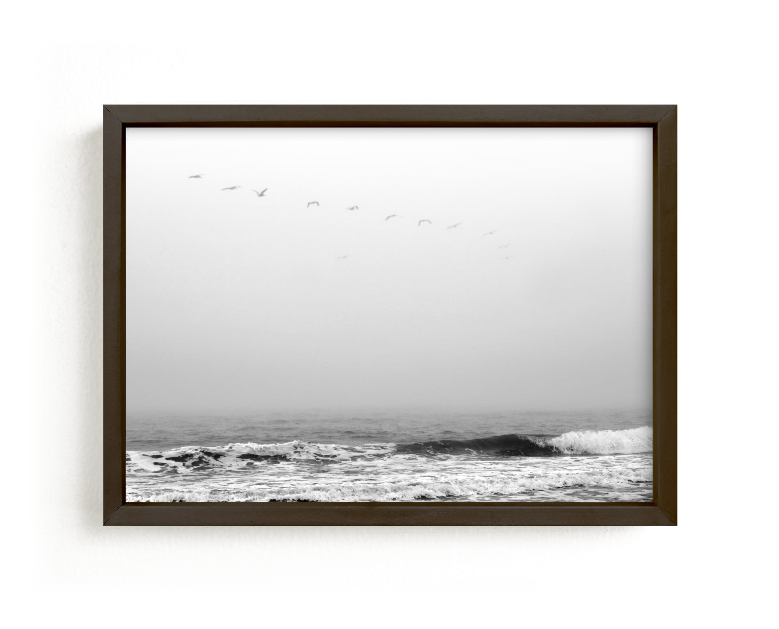 """Drifting Away"" - Limited Edition Art Print by Janelle Wourms in beautiful frame options and a variety of sizes."