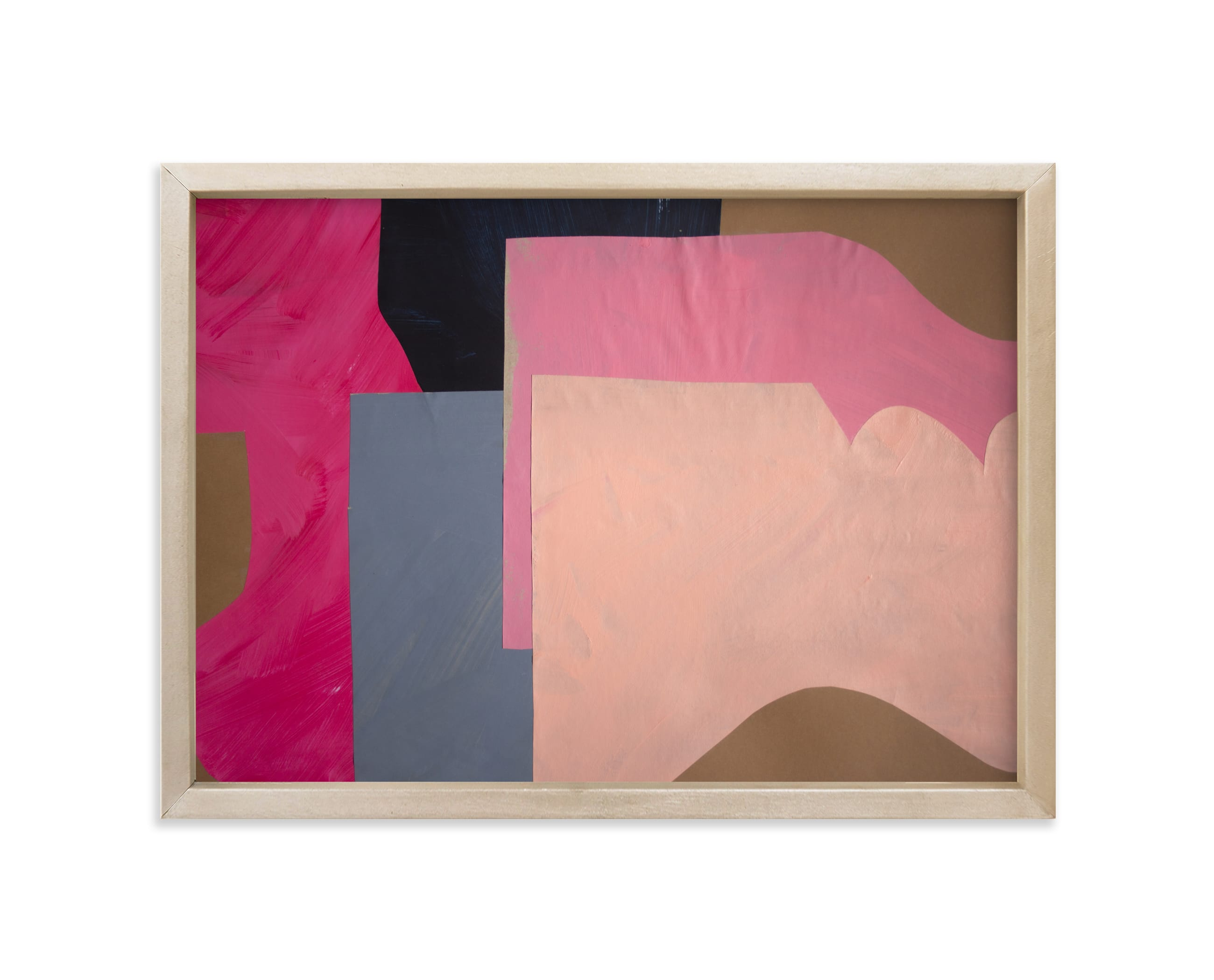 """""""Pink Lands"""" - Limited Edition Art Print by cyrille gulassa in beautiful frame options and a variety of sizes."""