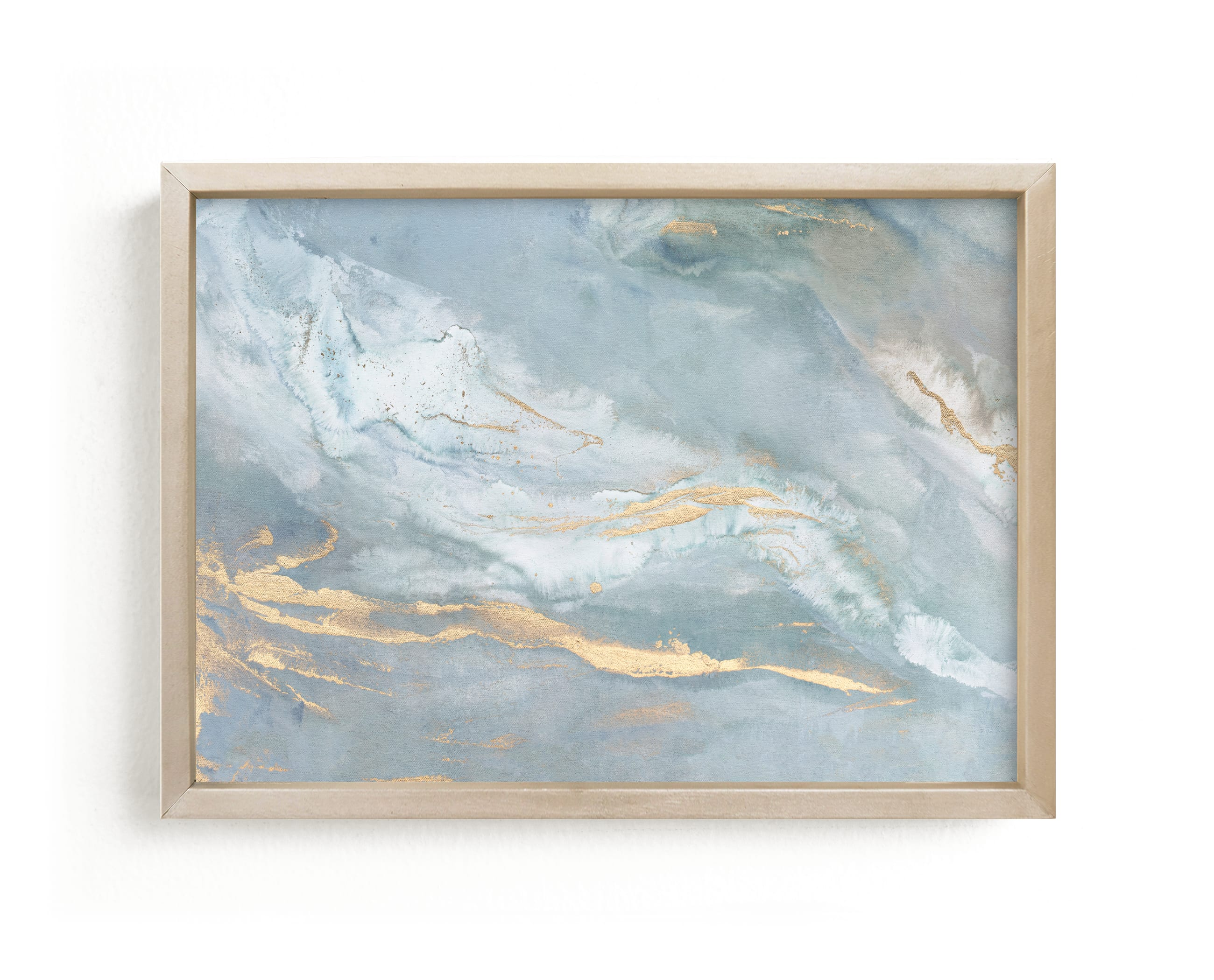 """""""Blue Sage"""" - Limited Edition Art Print by Julia Contacessi in beautiful frame options and a variety of sizes."""