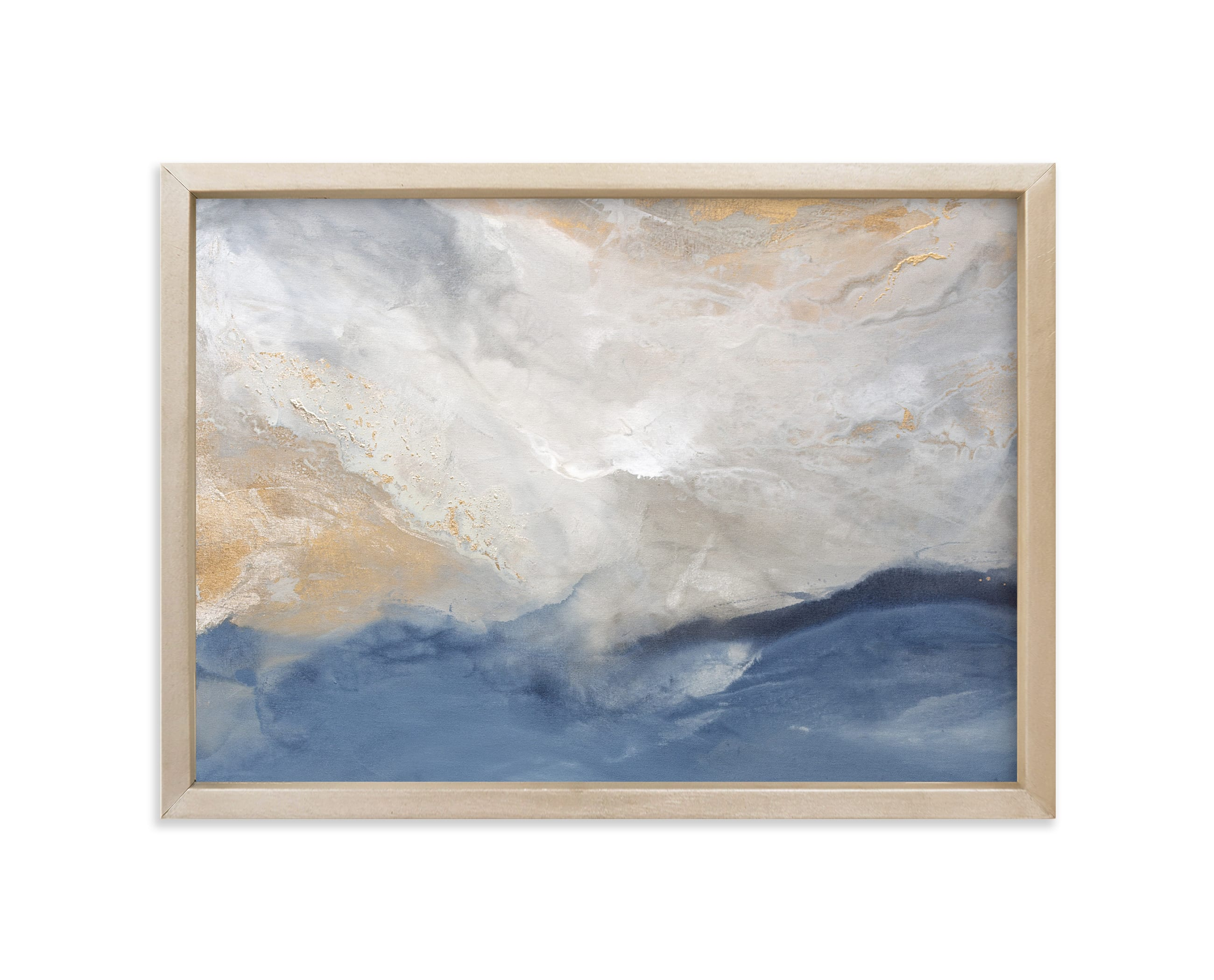 """""""Tangled Blue"""" - Limited Edition Art Print by Julia Contacessi in beautiful frame options and a variety of sizes."""