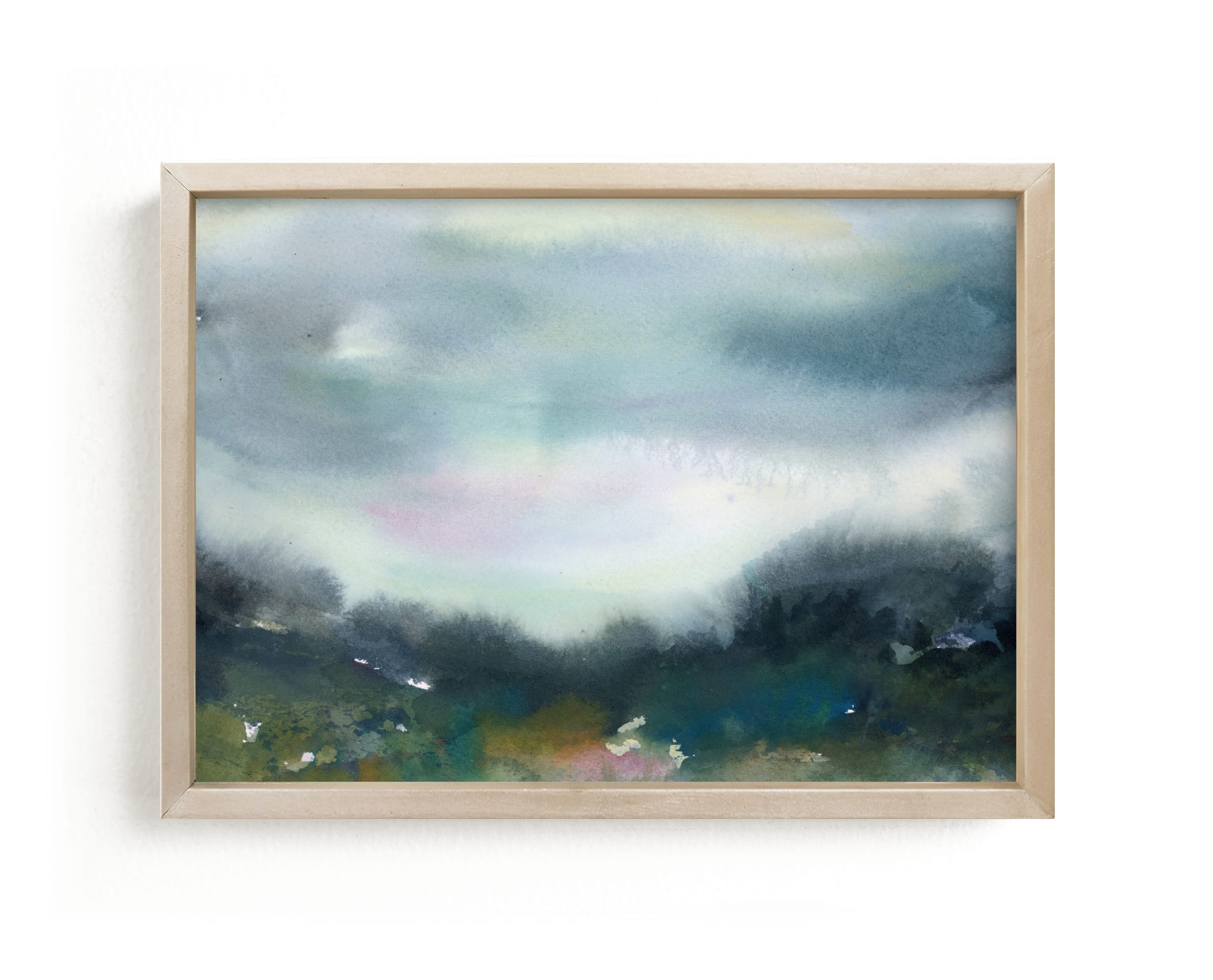 """Glade"" - Limited Edition Art Print by Lindsay Megahed in beautiful frame options and a variety of sizes."