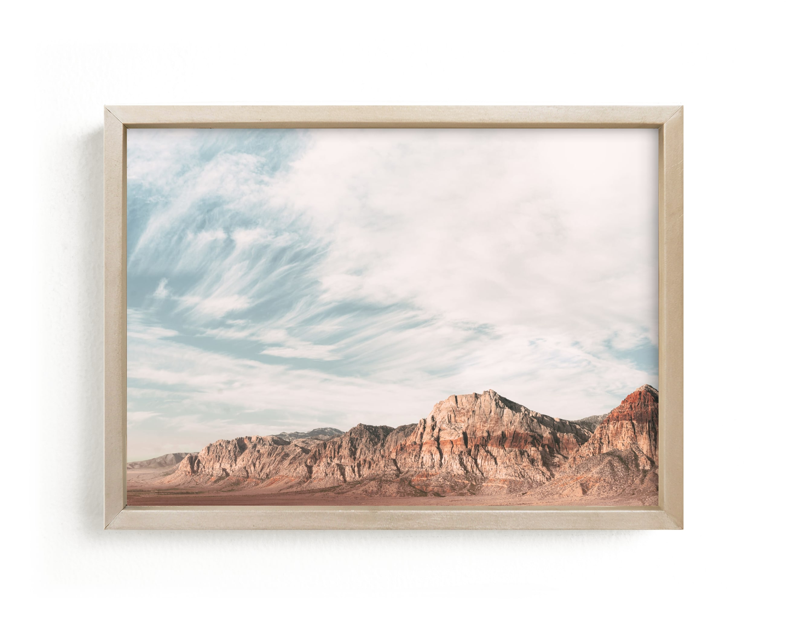 """""""red rock"""" - Limited Edition Art Print by Kamala Nahas in beautiful frame options and a variety of sizes."""