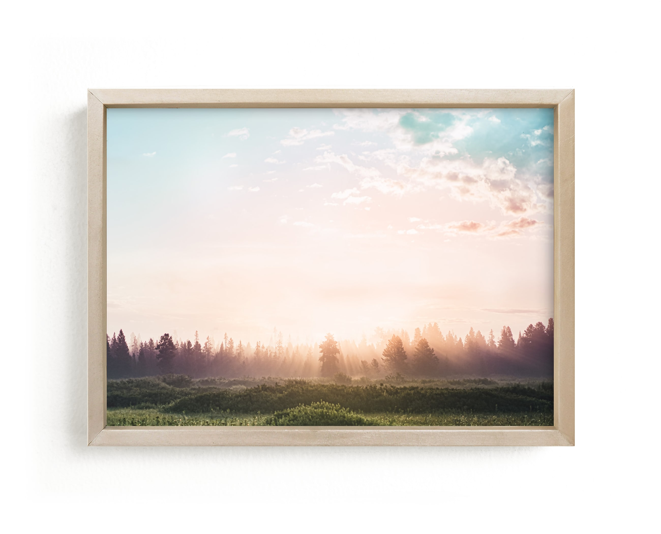 """""""Unicorn Dream"""" - Limited Edition Art Print by Kamala Nahas in beautiful frame options and a variety of sizes."""