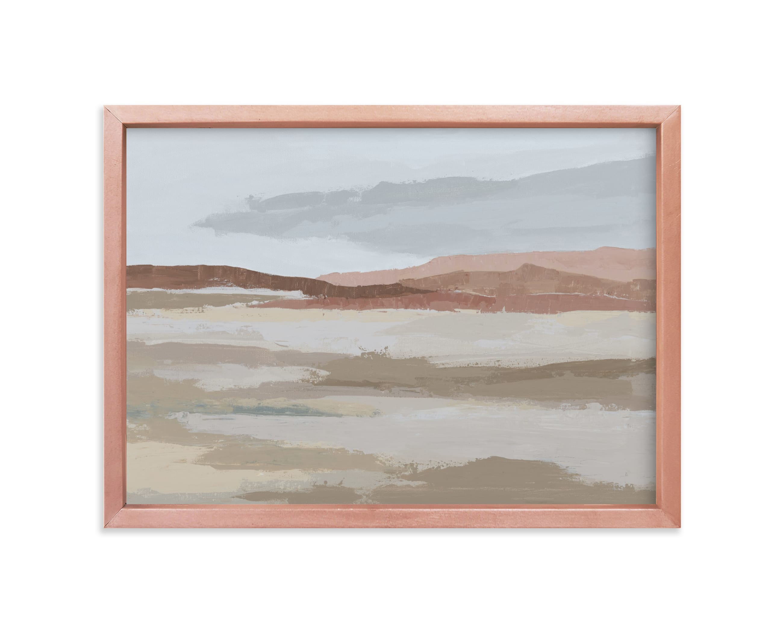 """Blushing Expanse"" - Limited Edition Art Print by Kati Ramer in beautiful frame options and a variety of sizes."
