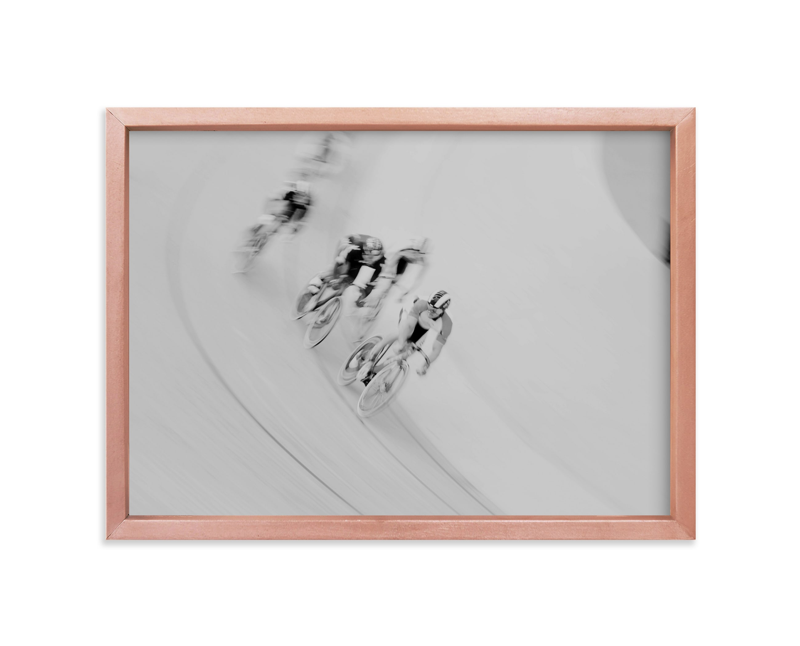"""Velodrome"" - Limited Edition Art Print by Catherine Culvenor in beautiful frame options and a variety of sizes."