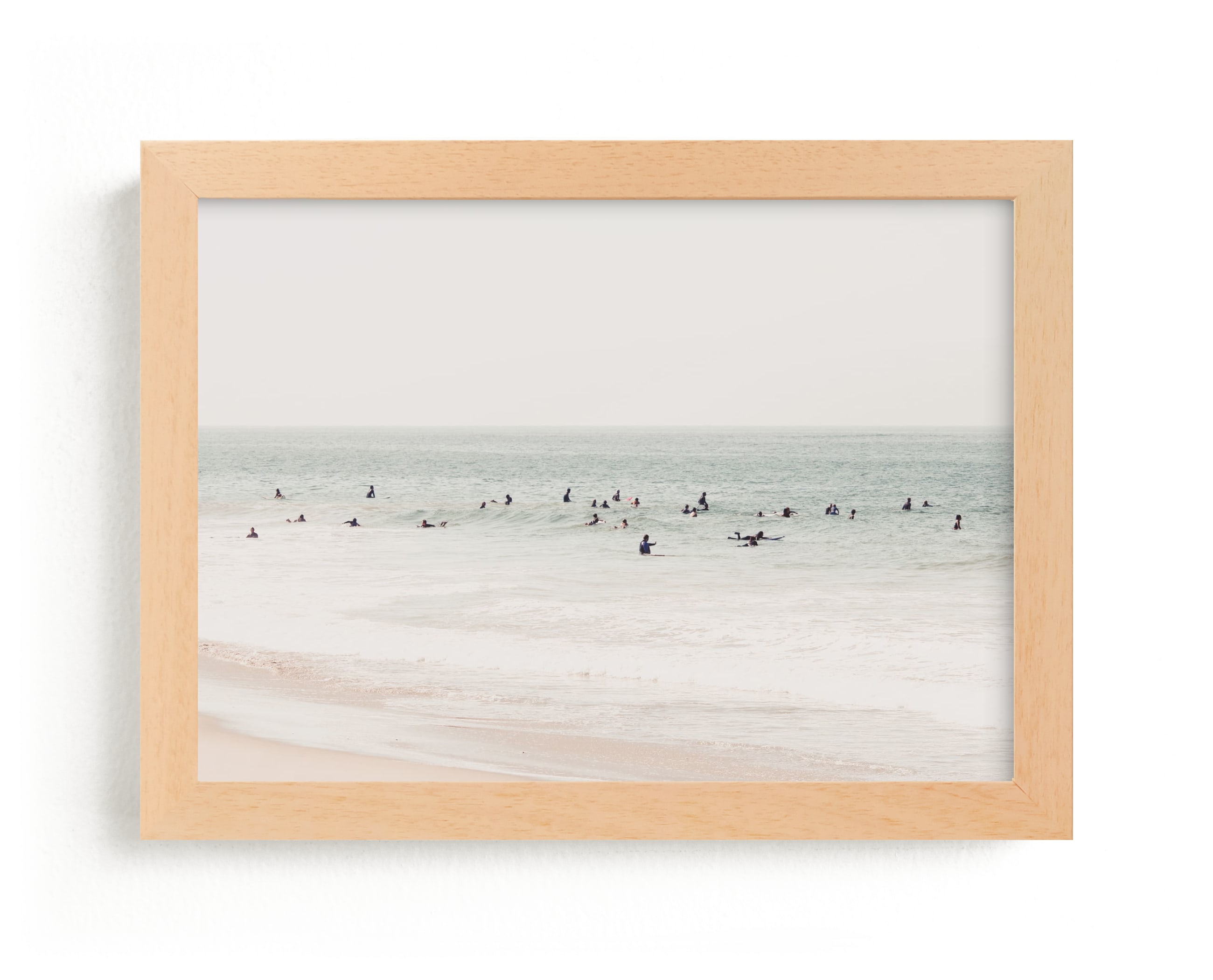 """Next To You In Malibu"" - Limited Edition Art Print by Summer Strauch in beautiful frame options and a variety of sizes."