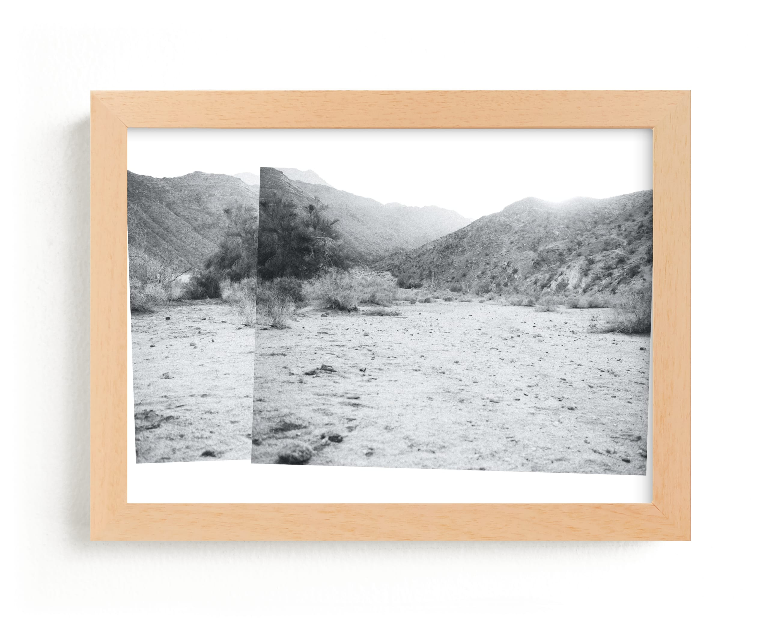 """""""desert diptych"""" - Limited Edition Art Print by Annie Clark in beautiful frame options and a variety of sizes."""