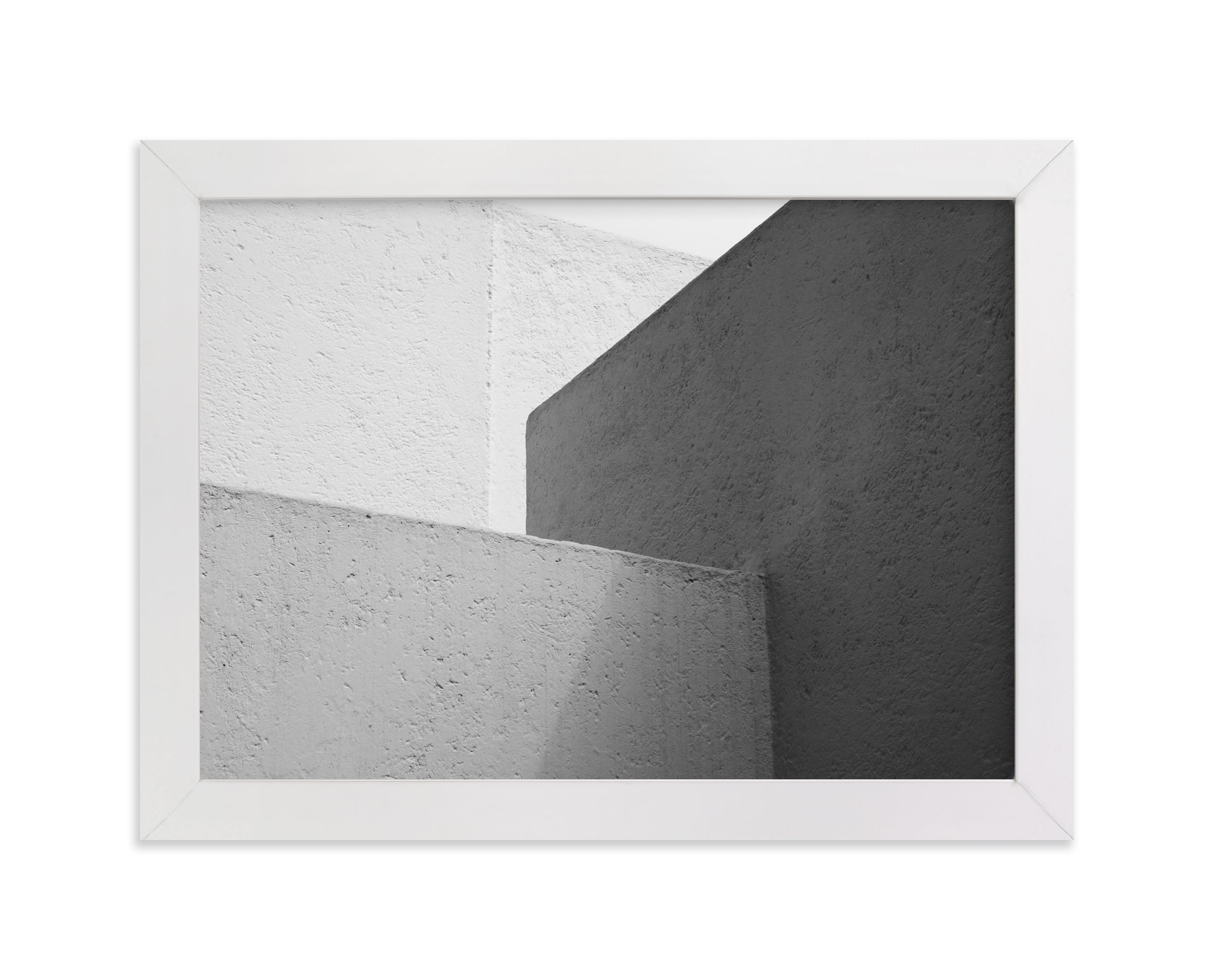"""""""White Walls"""" - Limited Edition Art Print by lulu and isabelle in beautiful frame options and a variety of sizes."""