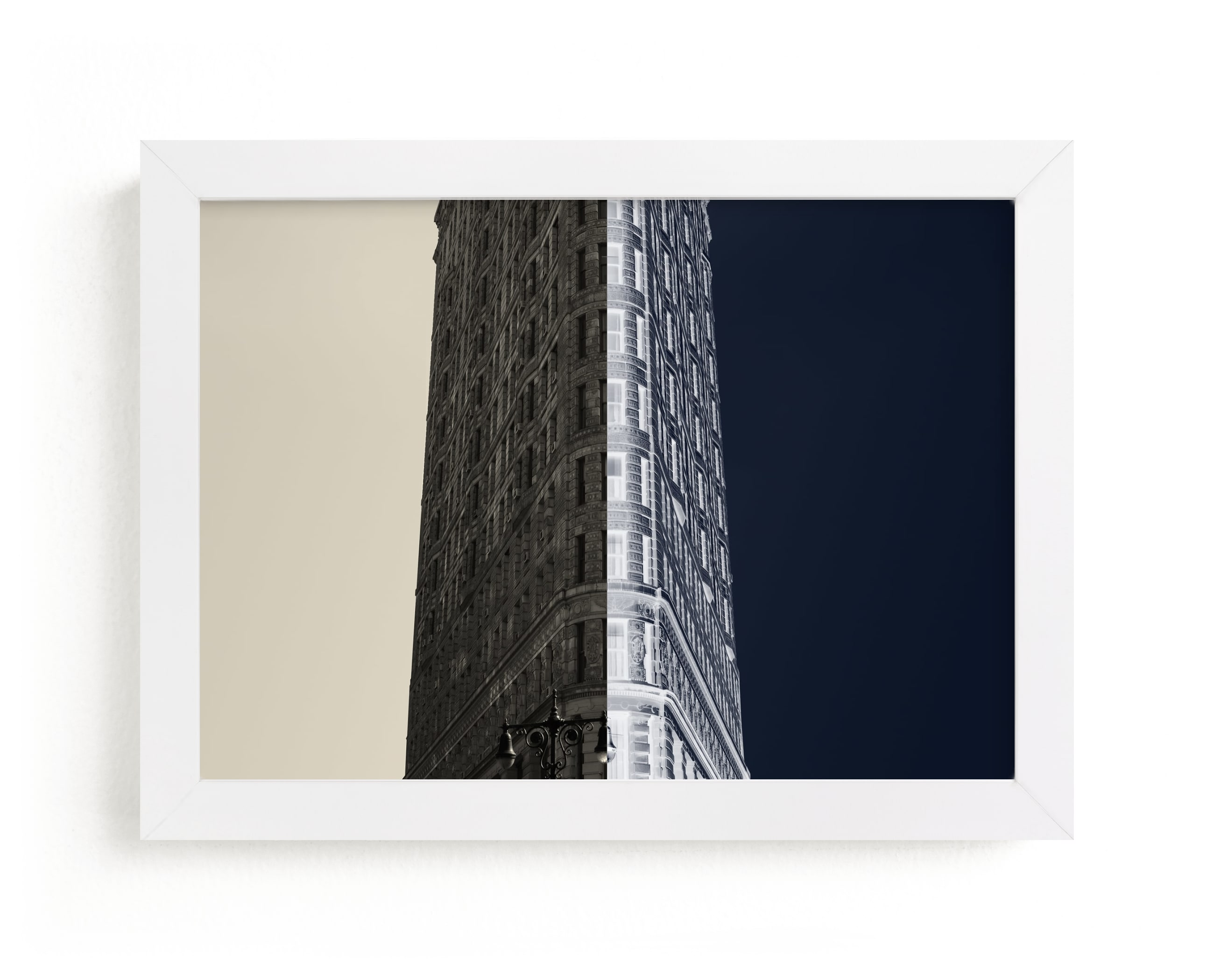 """Negative Space: New York Flatiron II"" - Limited Edition Art Print by Jessica C. Nugent in beautiful frame options and a variety of sizes."