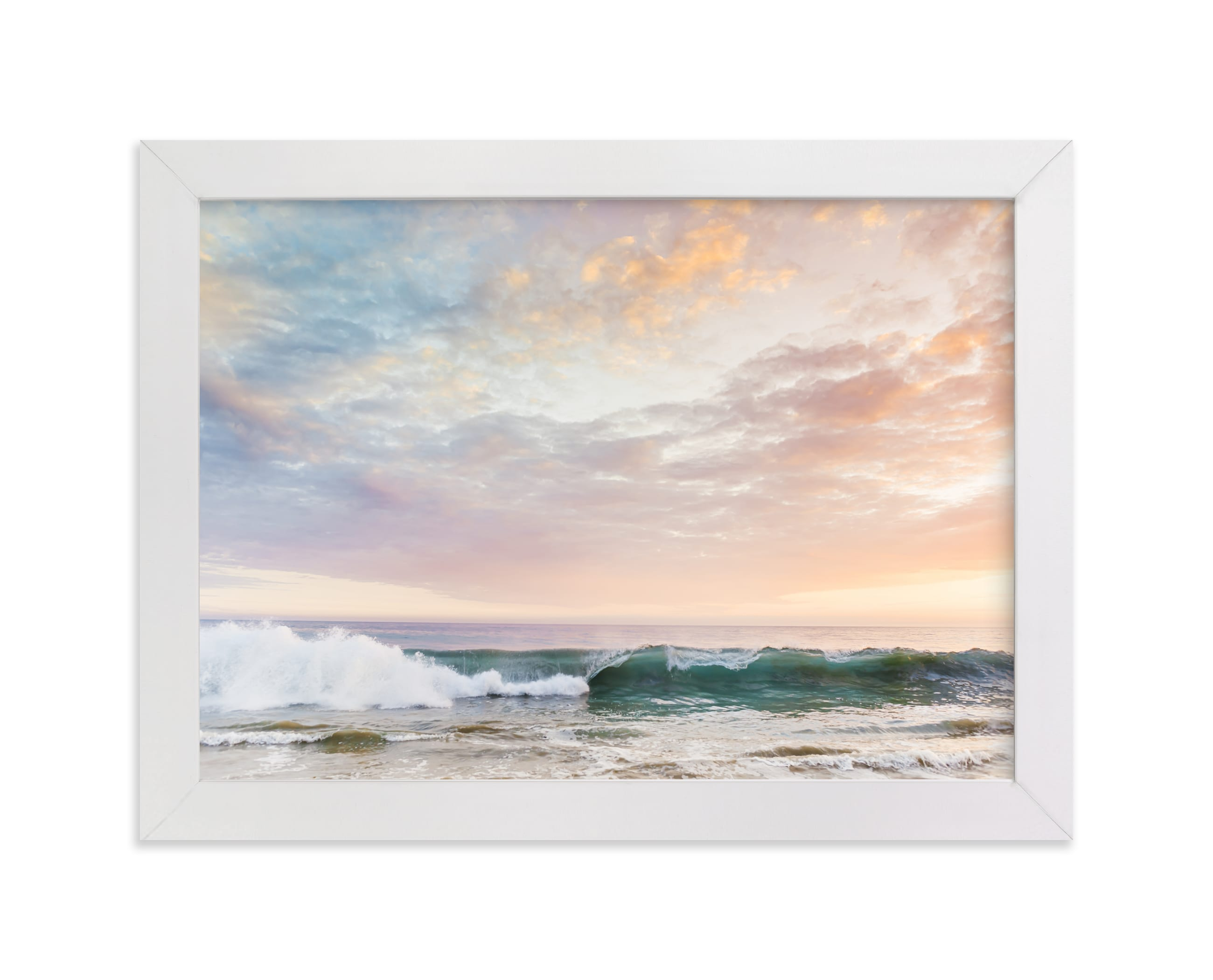 """Sorbet Surf I"" - Limited Edition Art Print by Kamala Nahas in beautiful frame options and a variety of sizes."