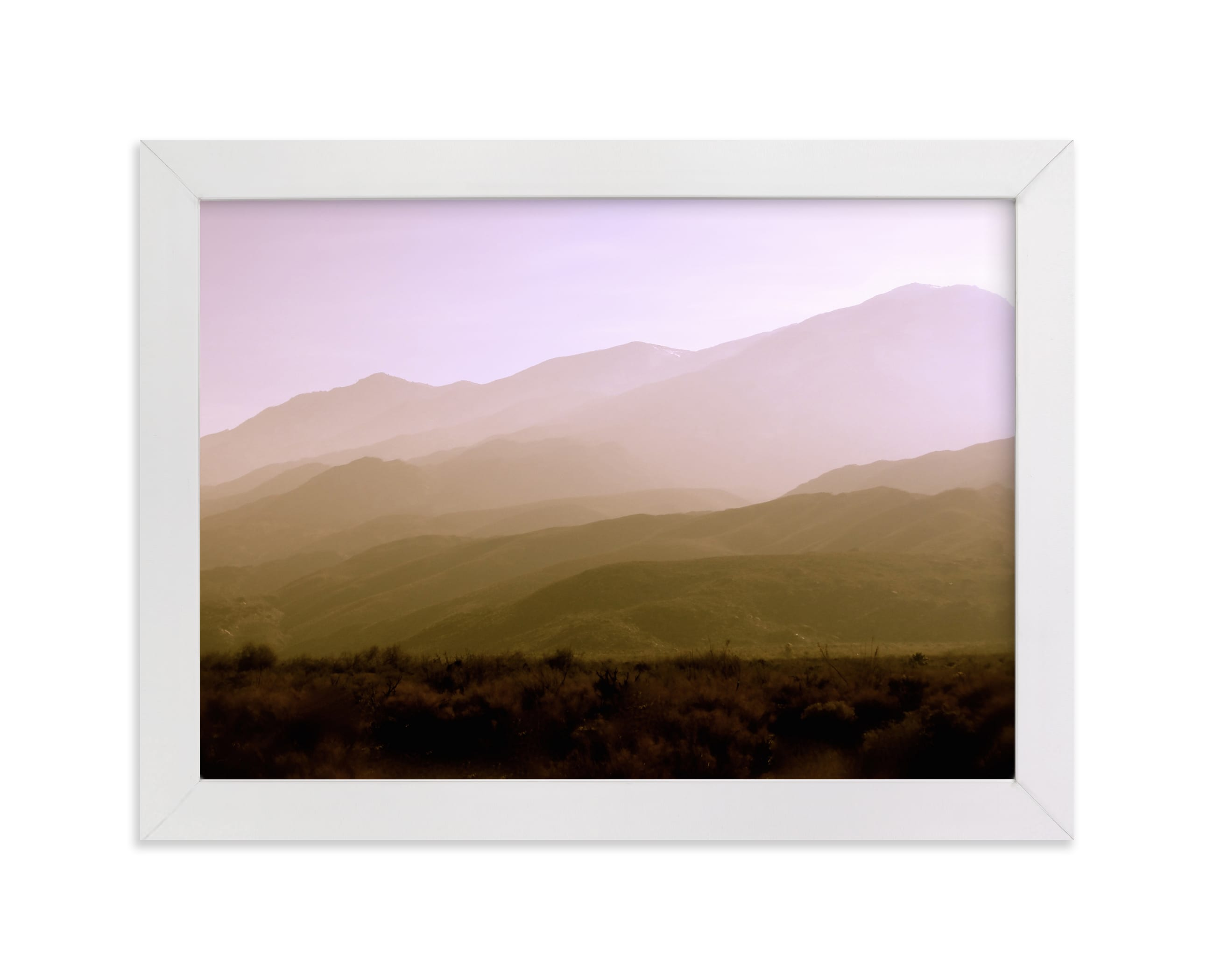 """""""Indian Canyon"""" - Limited Edition Art Print by Lisa Sundin in beautiful frame options and a variety of sizes."""