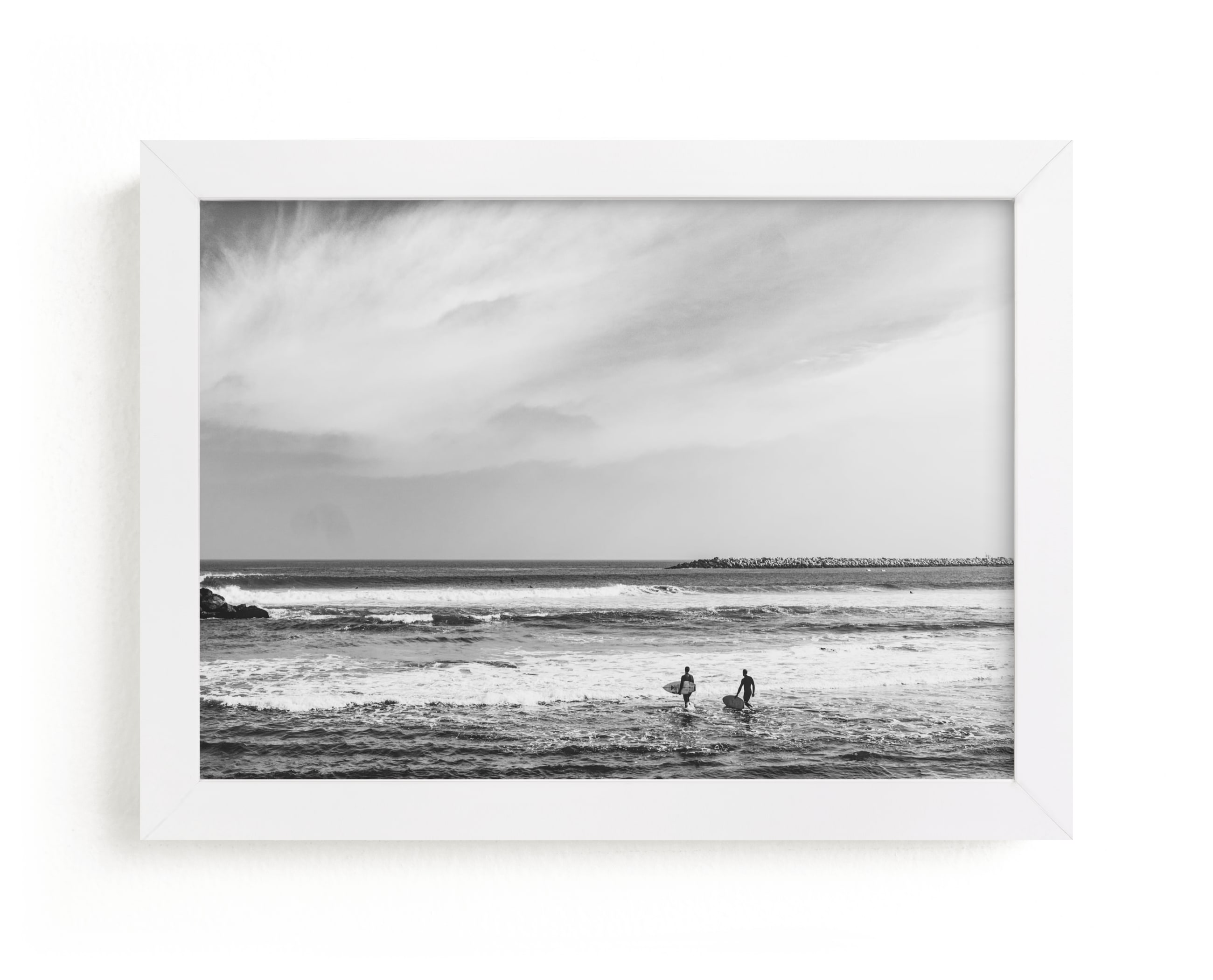 """Ventura 1"" - Limited Edition Art Print by Kamala Nahas in beautiful frame options and a variety of sizes."