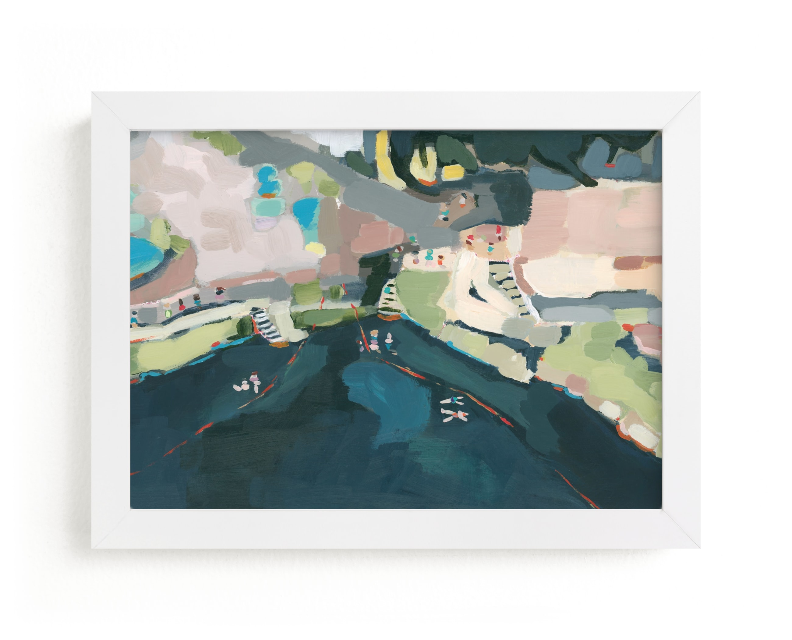 """""""Cenote"""" - Limited Edition Art Print by Rachel Mercier in beautiful frame options and a variety of sizes."""