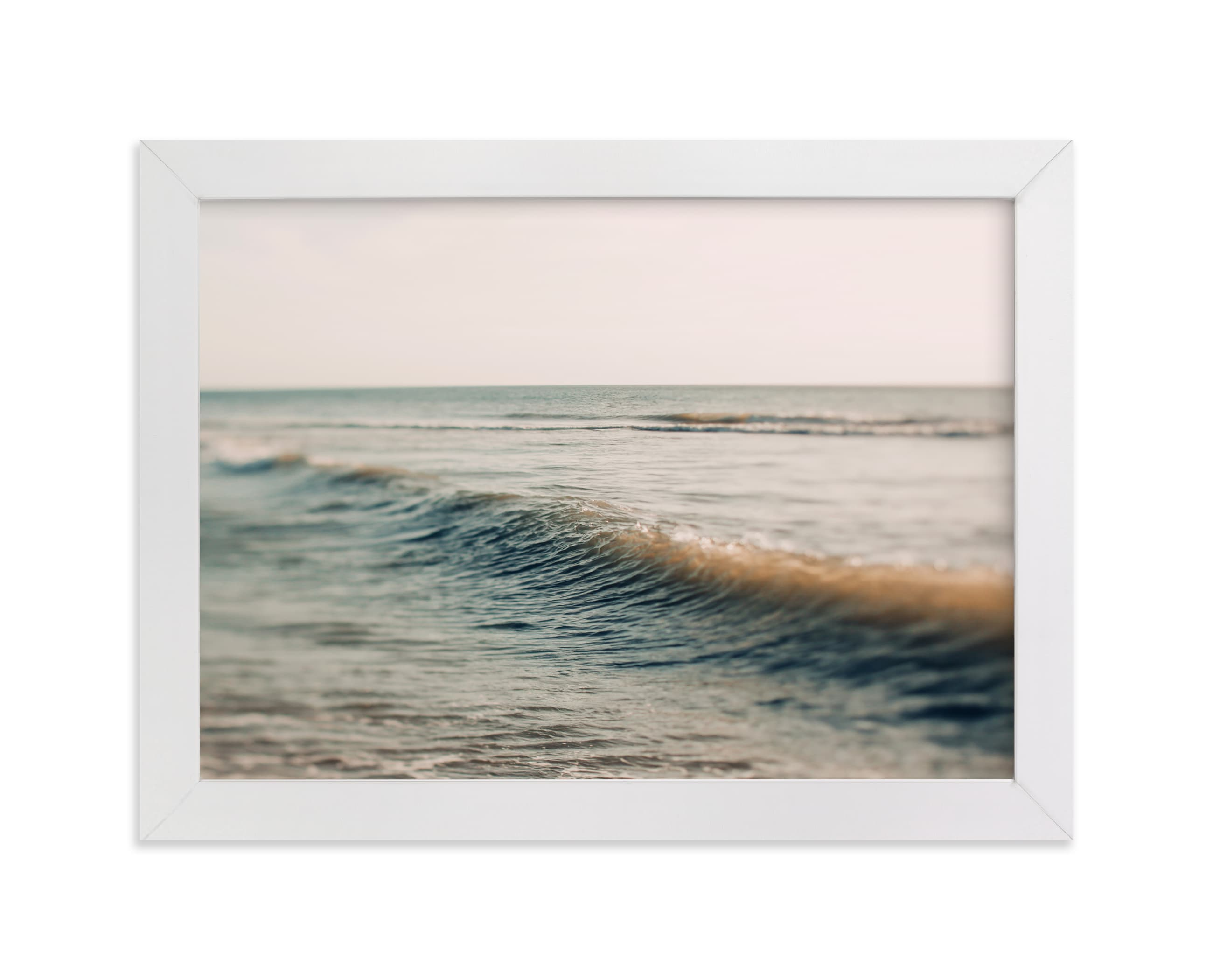 """""""I'll Send A Postcard"""" - Limited Edition Art Print by ALICIA BOCK in beautiful frame options and a variety of sizes."""