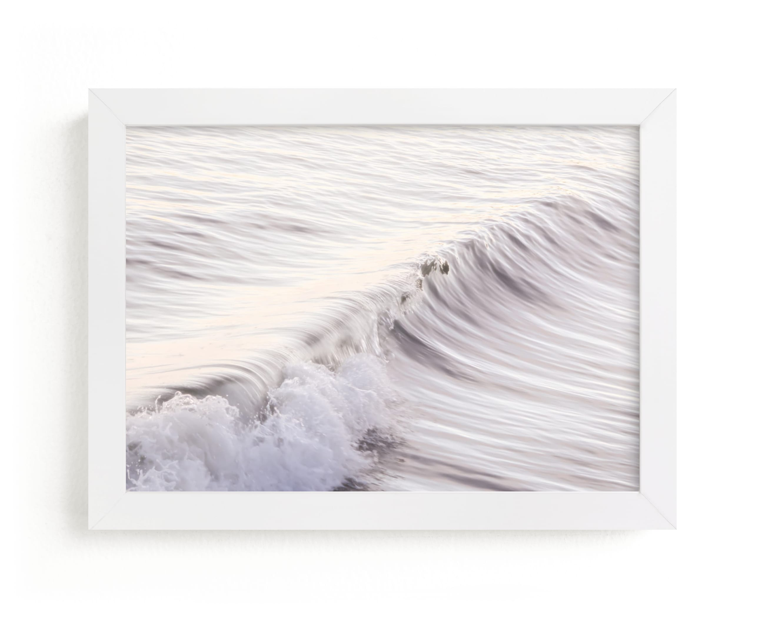 """""""Cayucos Soft Waves """" - Limited Edition Art Print by Lisa Sundin in beautiful frame options and a variety of sizes."""