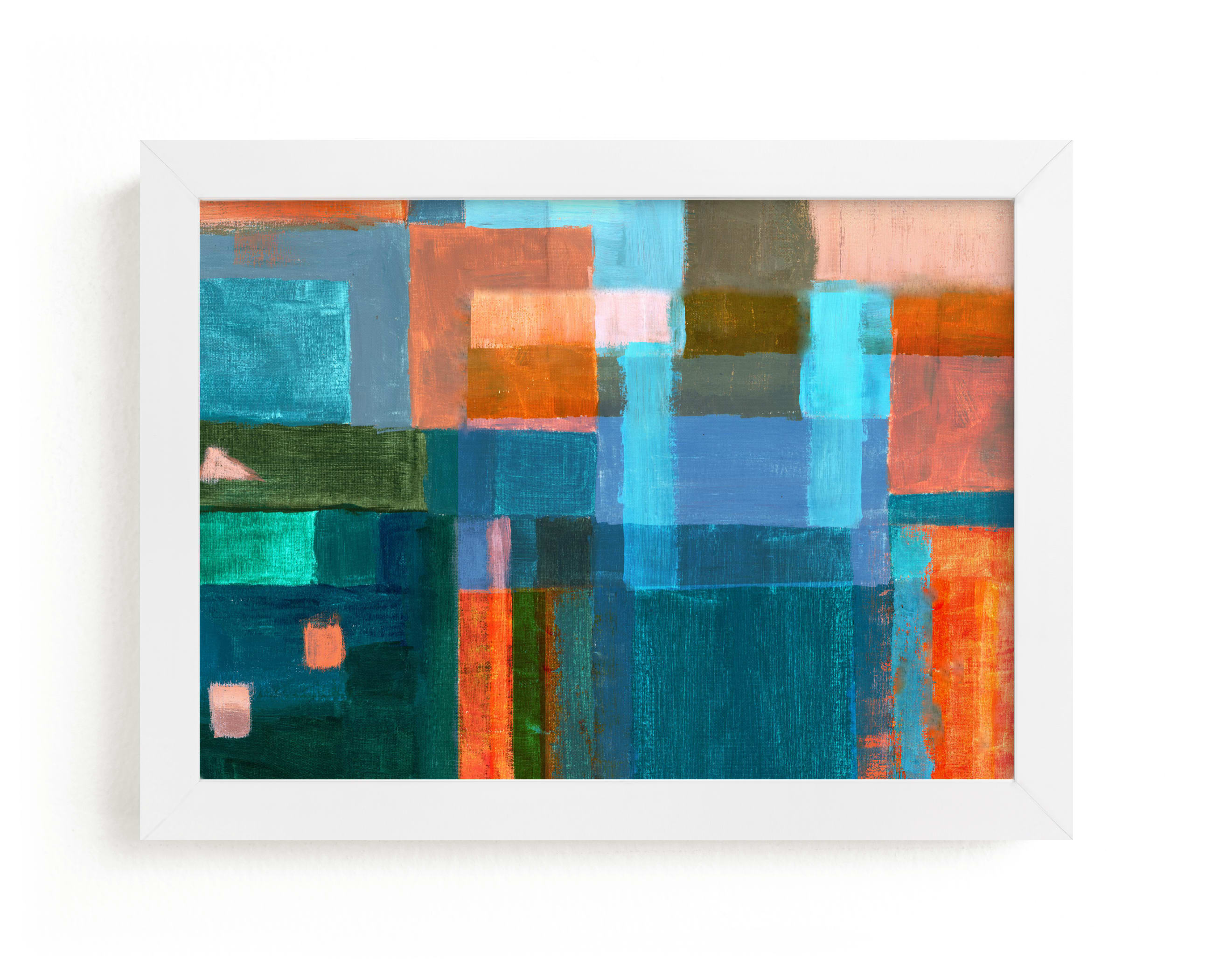 """""""Patches"""" - Limited Edition Art Print by Bethania Lima in beautiful frame options and a variety of sizes."""