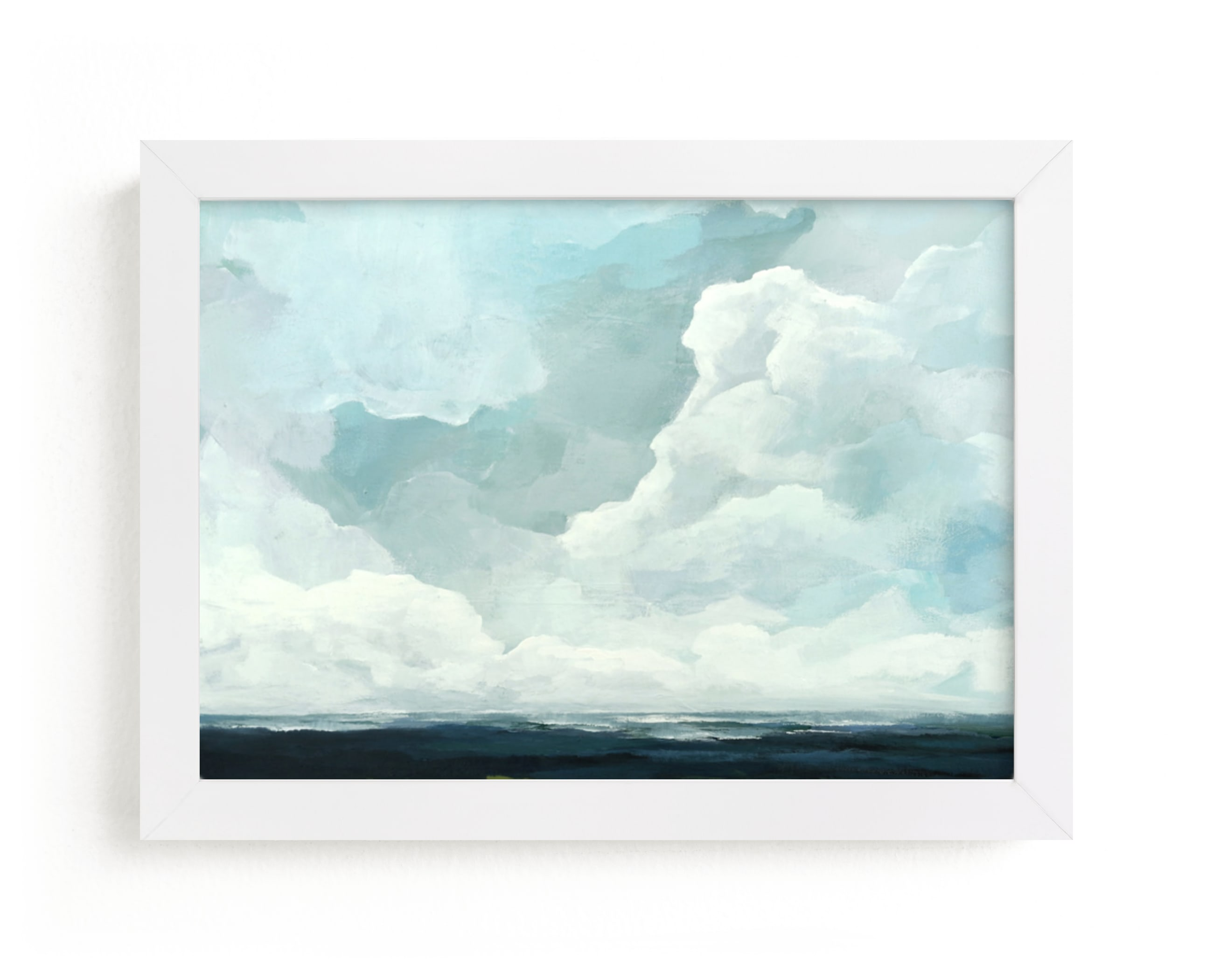 """""""Late in the Day"""" - Limited Edition Art Print by Mya Bessette in beautiful frame options and a variety of sizes."""