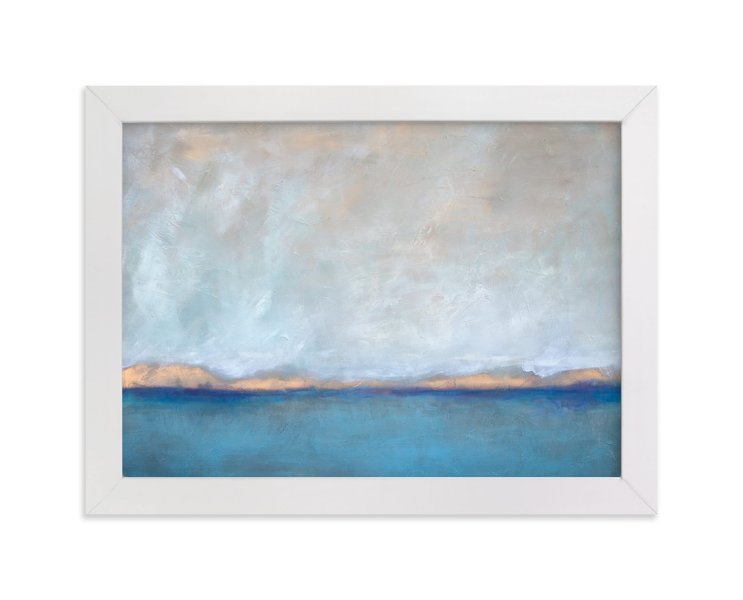 """Linen Coast"" - Limited Edition Art Print by Julia Contacessi in beautiful frame options and a variety of sizes."