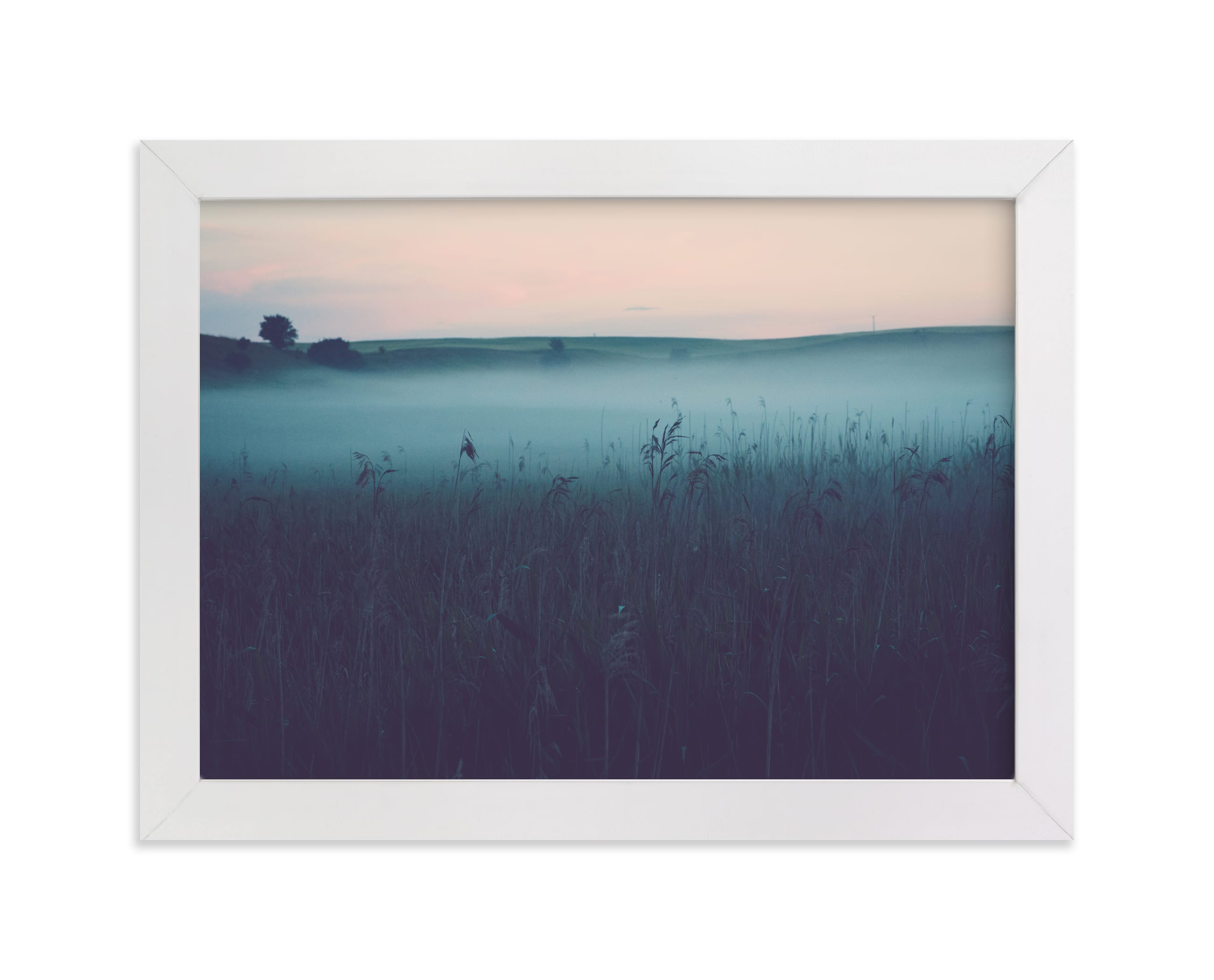 """""""Mystery"""" - Limited Edition Art Print by Lying on the grass in beautiful frame options and a variety of sizes."""