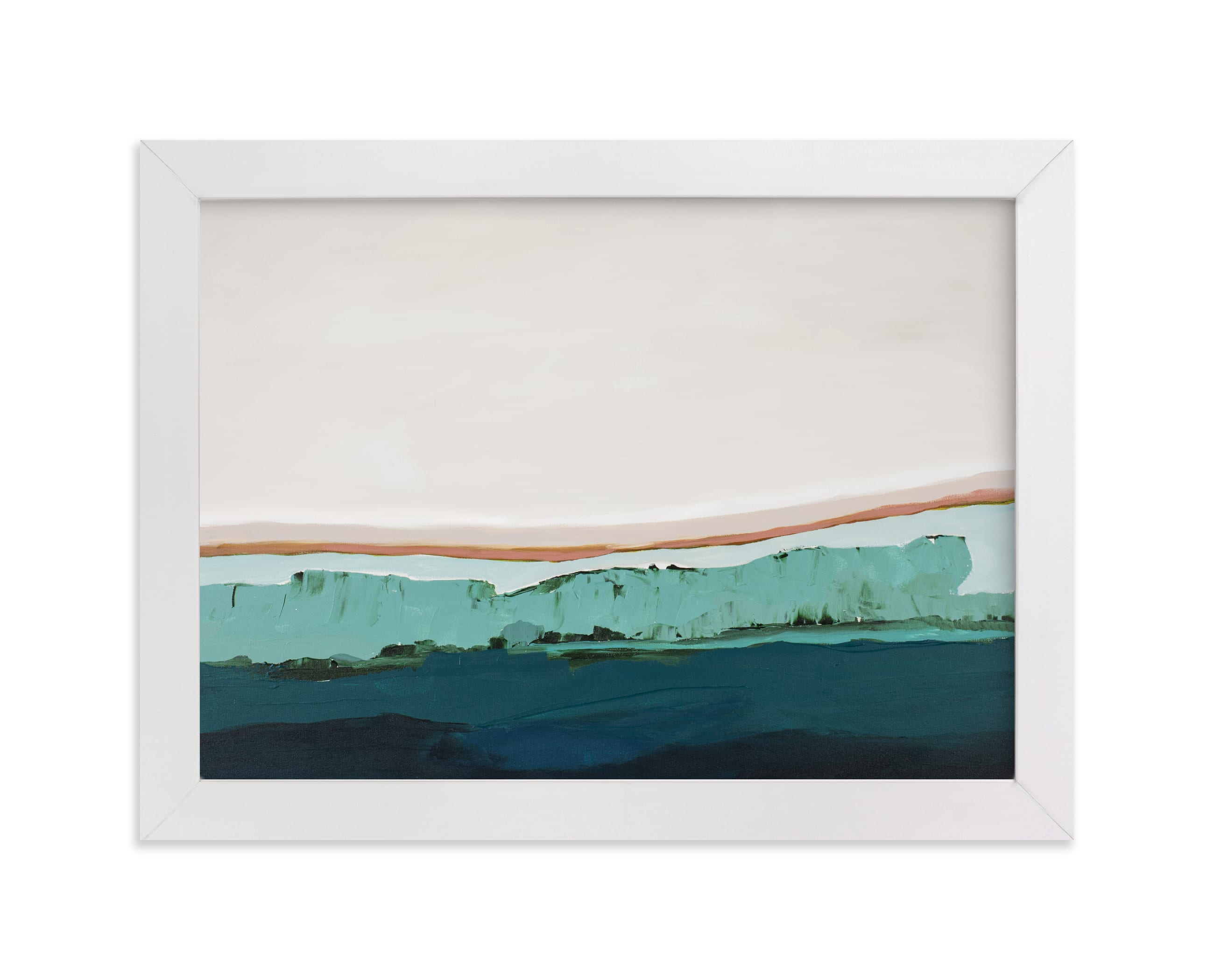 """Coastal Bluff"" - Limited Edition Art Print by Caryn Owen in beautiful frame options and a variety of sizes."