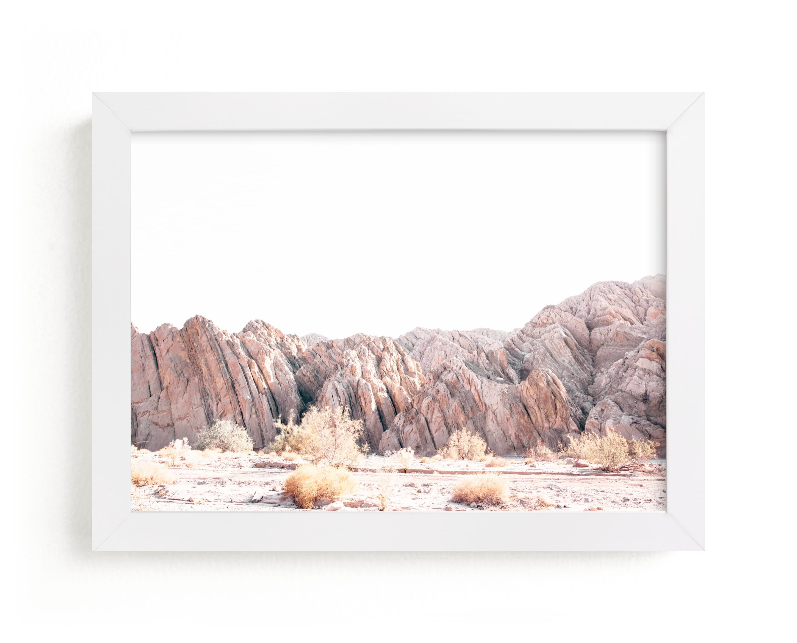 """""""Painted Canyon 3"""" - Limited Edition Art Print by Kamala Nahas in beautiful frame options and a variety of sizes."""