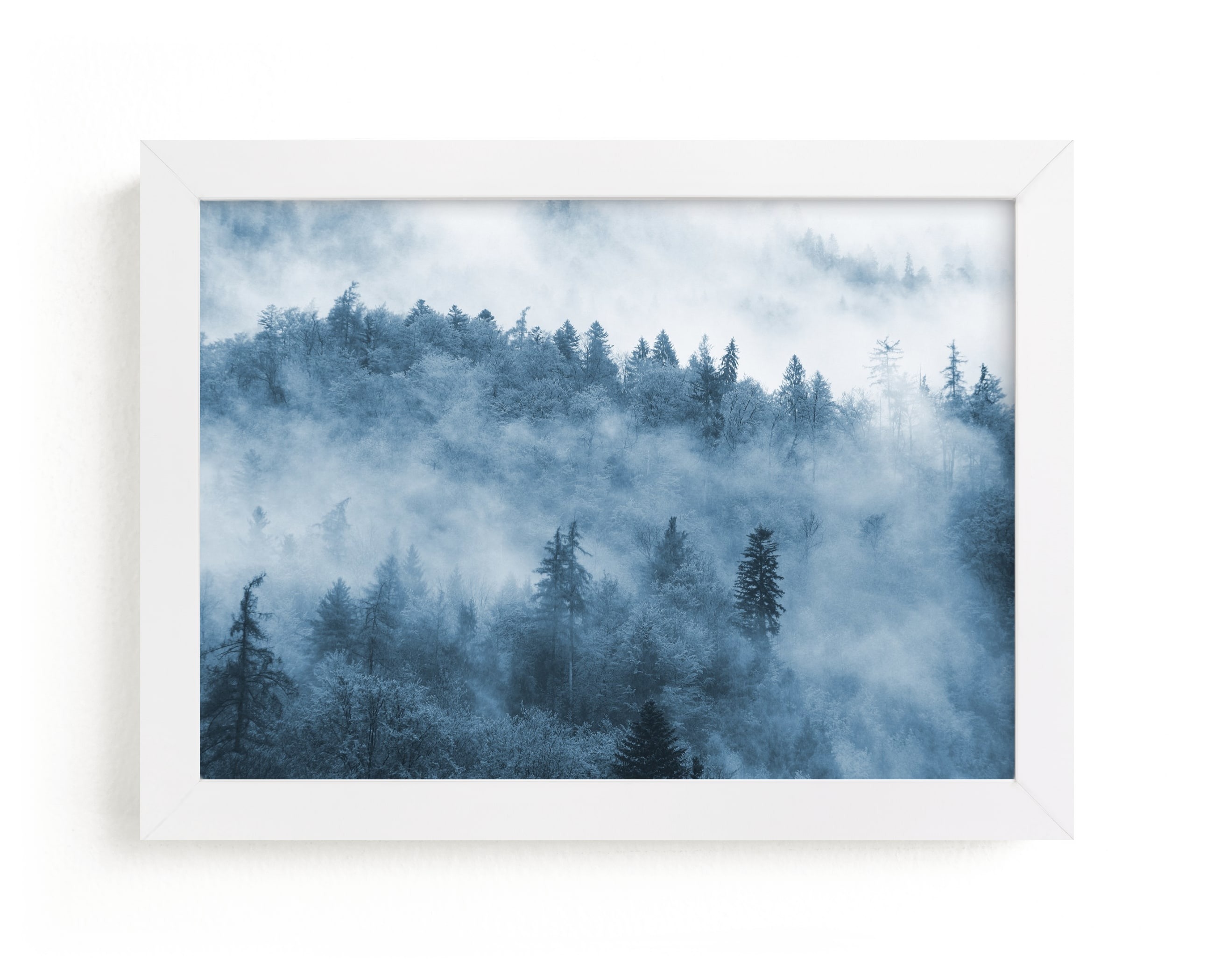 """""""misty forest"""" - Limited Edition Art Print by lulu and isabelle in beautiful frame options and a variety of sizes."""
